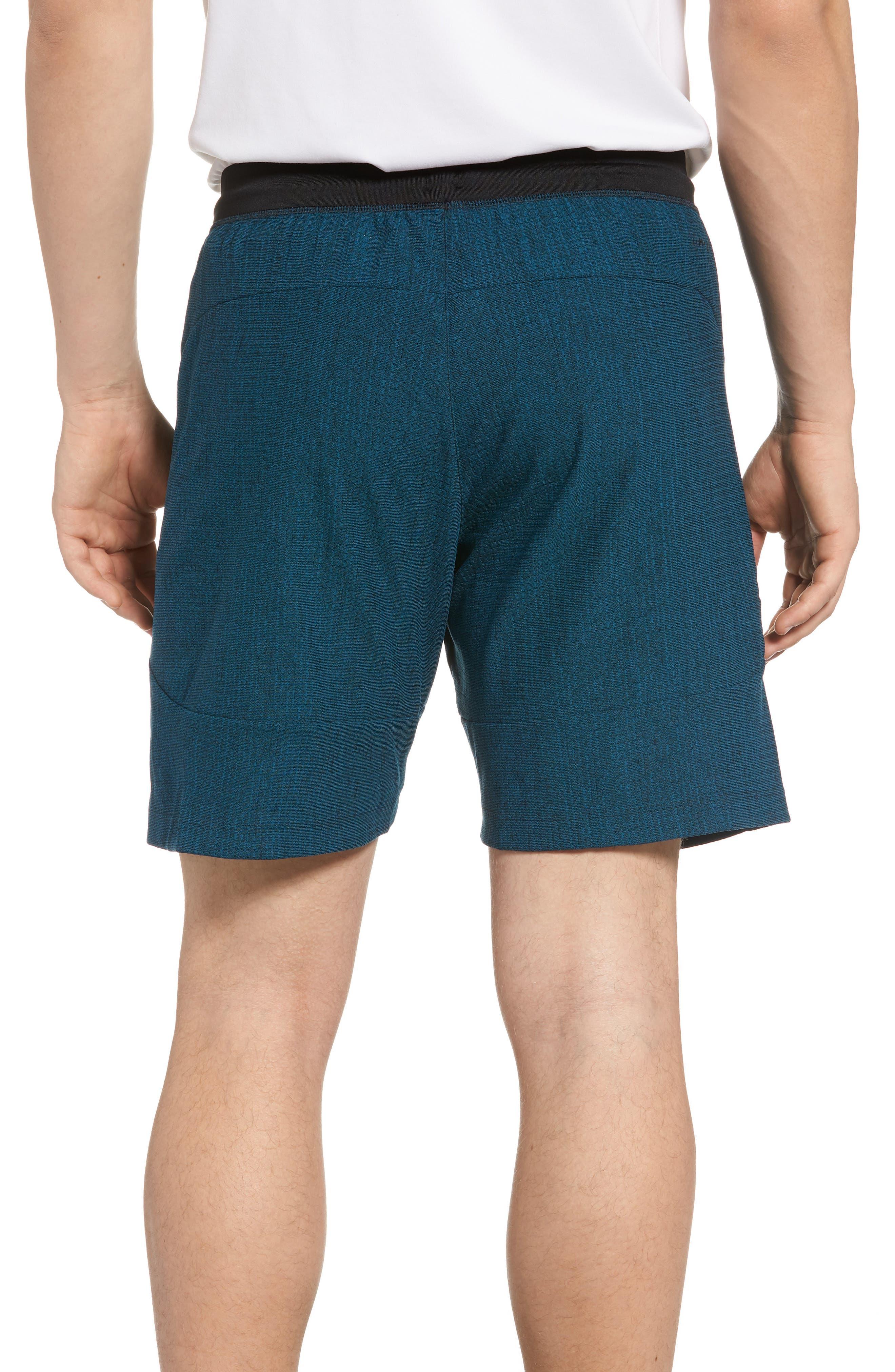 Speedbreaker Shorts,                             Alternate thumbnail 2, color,                             Real Teal