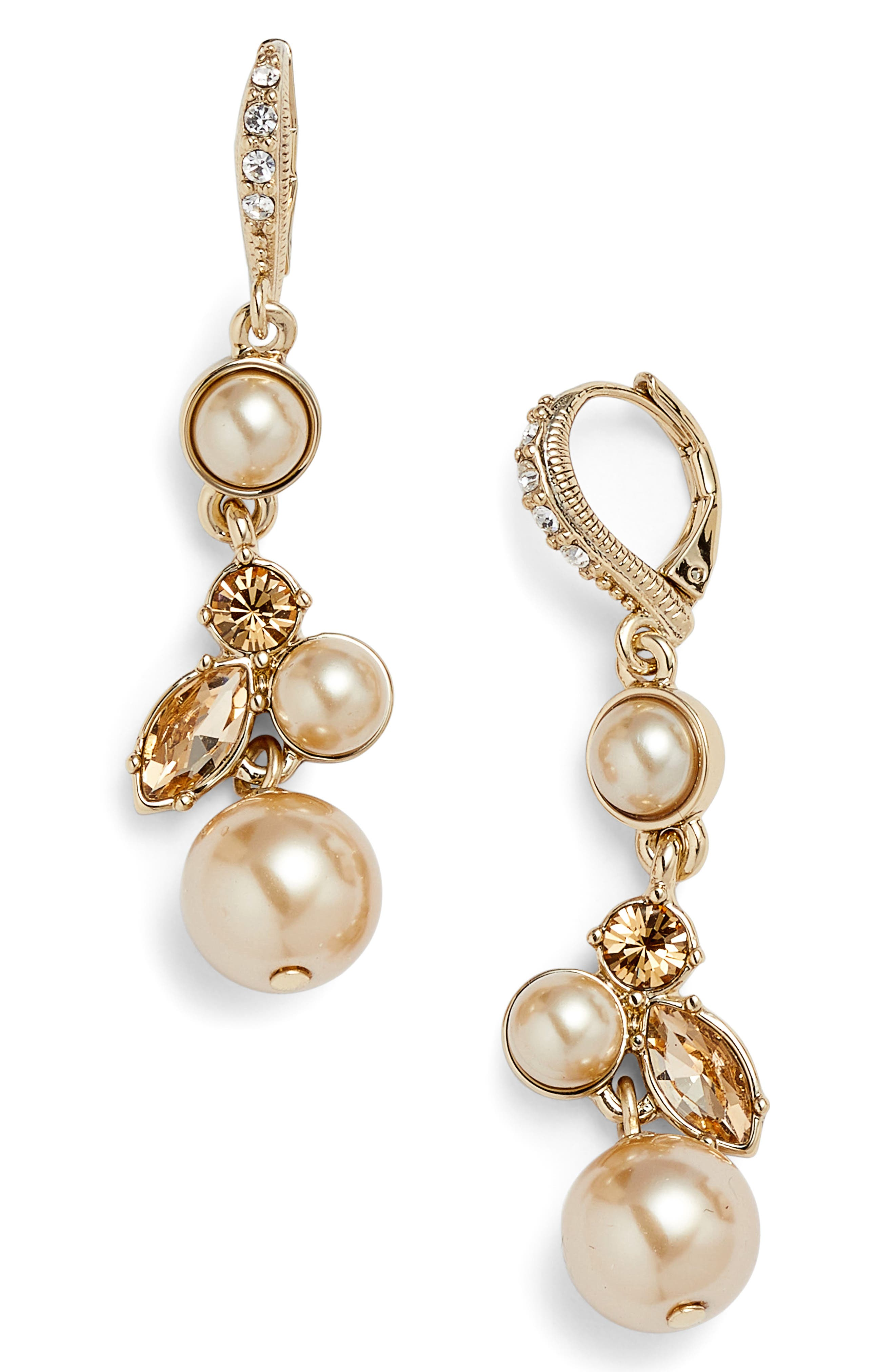 Givenchy Imitation Pearl Earrings