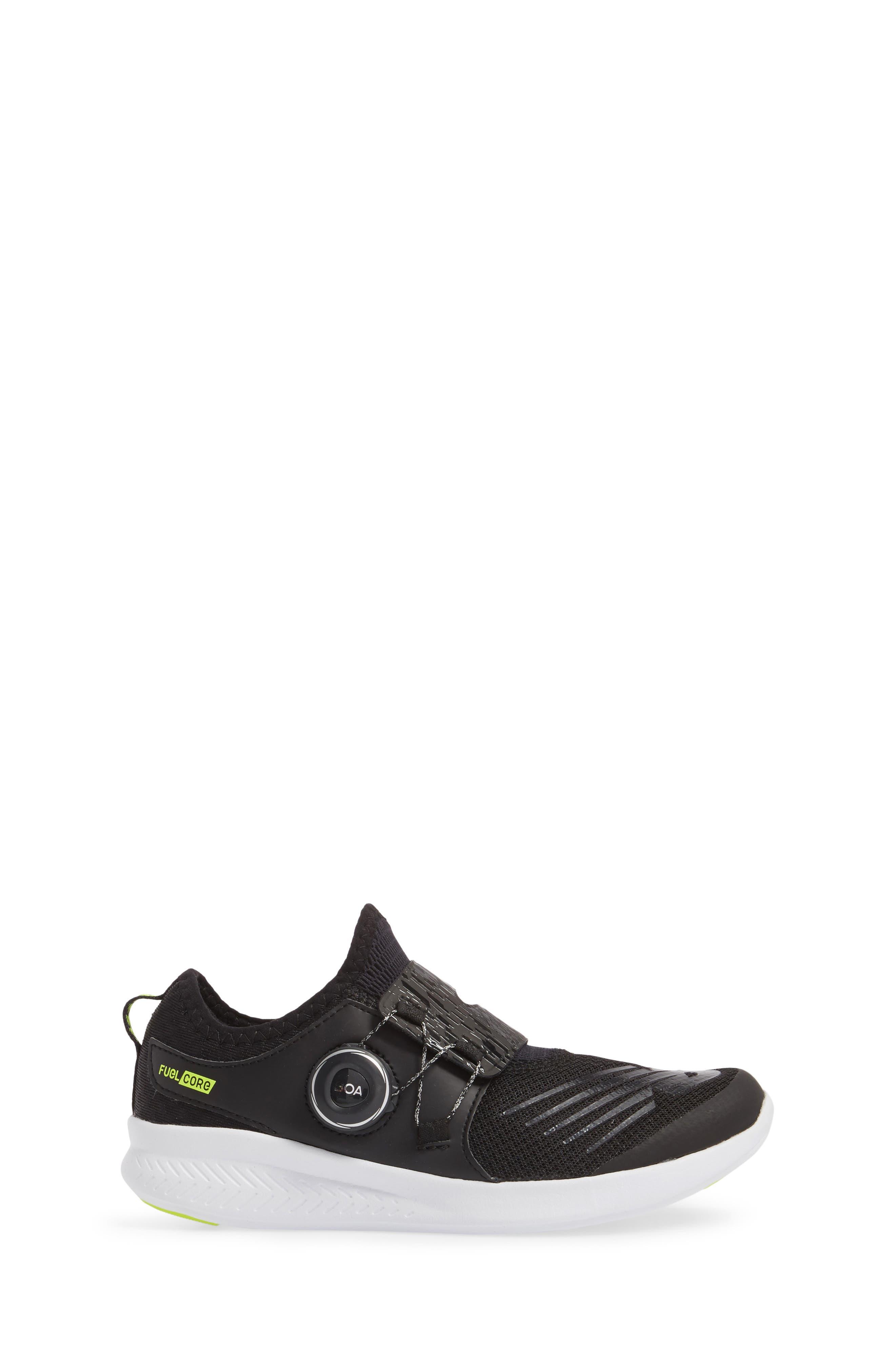 BKO Running Shoe,                             Alternate thumbnail 3, color,                             Black/ Hi Lite