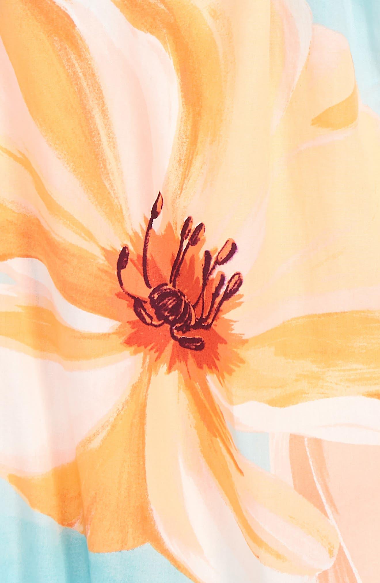 Bubble Romper,                             Alternate thumbnail 2, color,                             Mojave Desert Florals