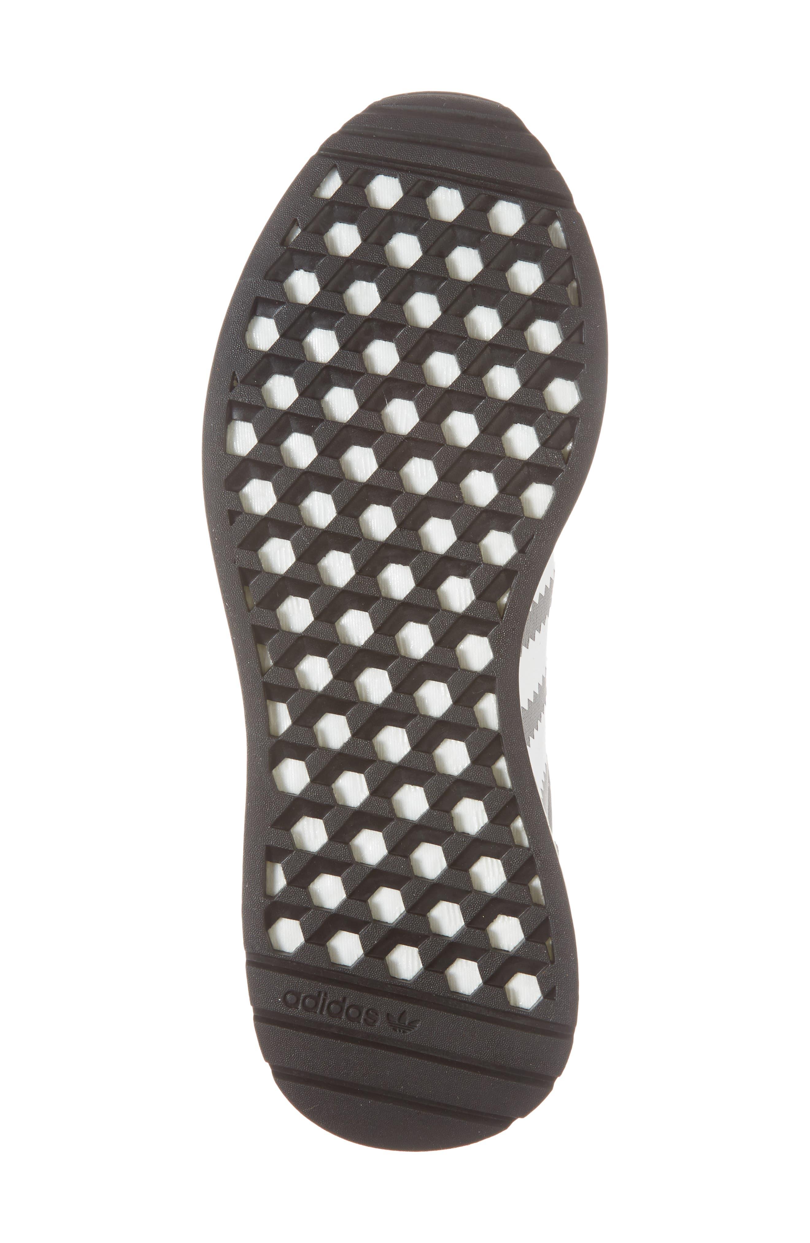 I-5923 Sneaker,                             Alternate thumbnail 6, color,                             Visible Grey/ White/ Black