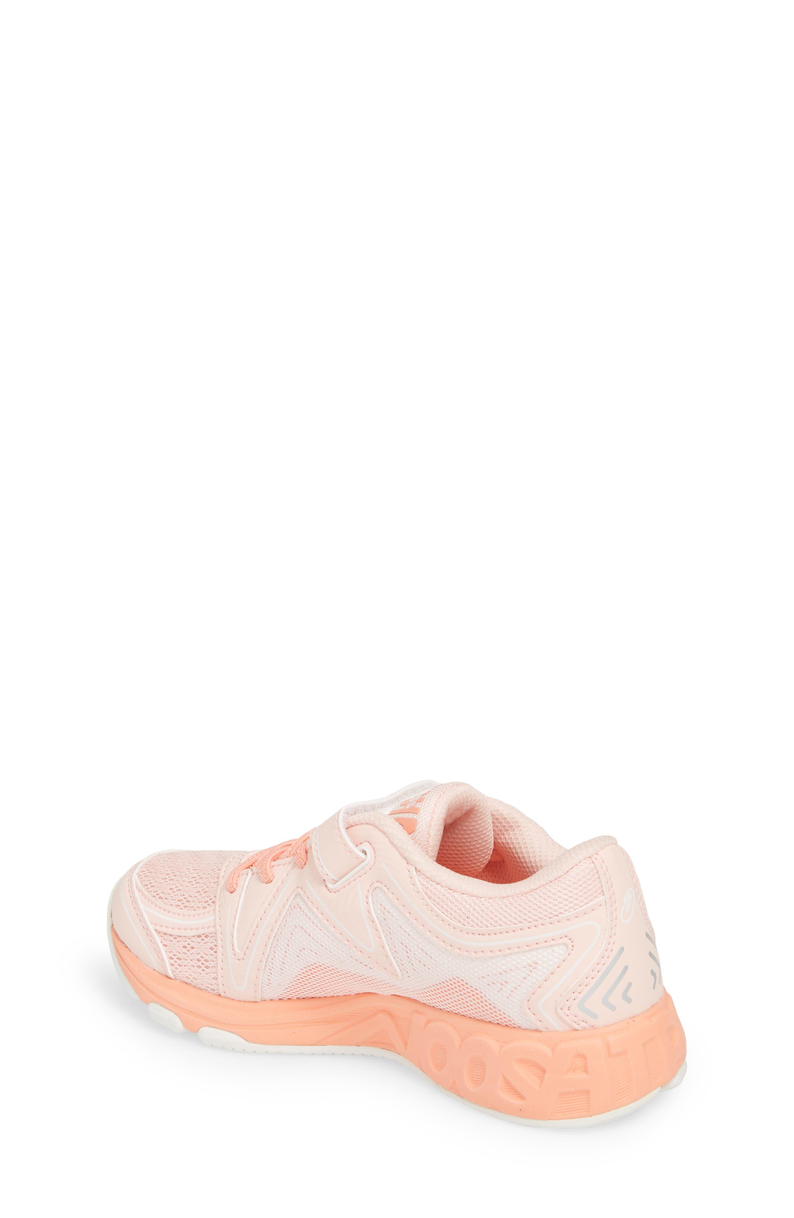 Noosa PS Sneaker,                             Alternate thumbnail 2, color,                             Seashell Pink/ Begonia/ White