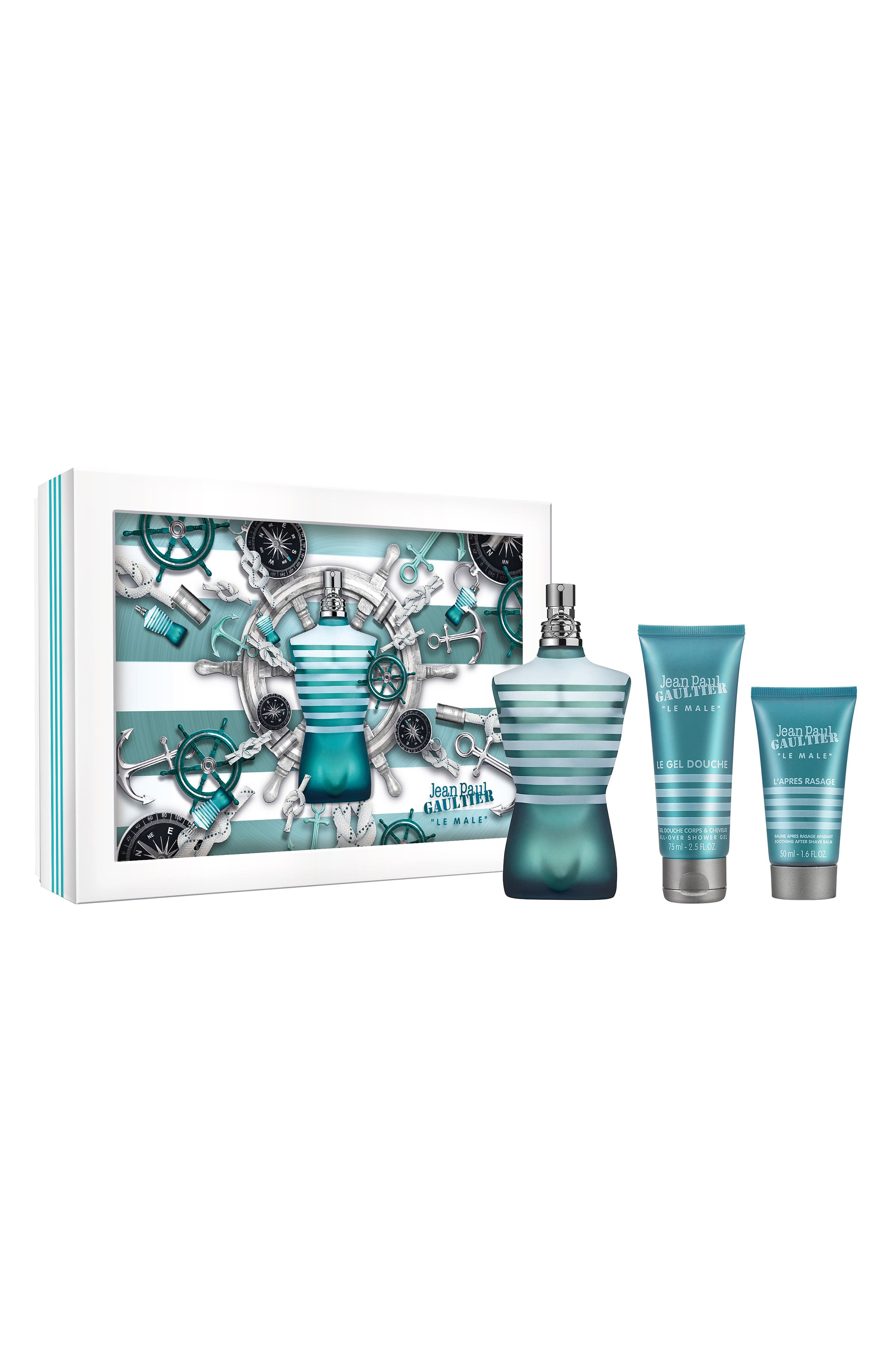 Jean Paul Gaultier Le Male Set ($131 Value)
