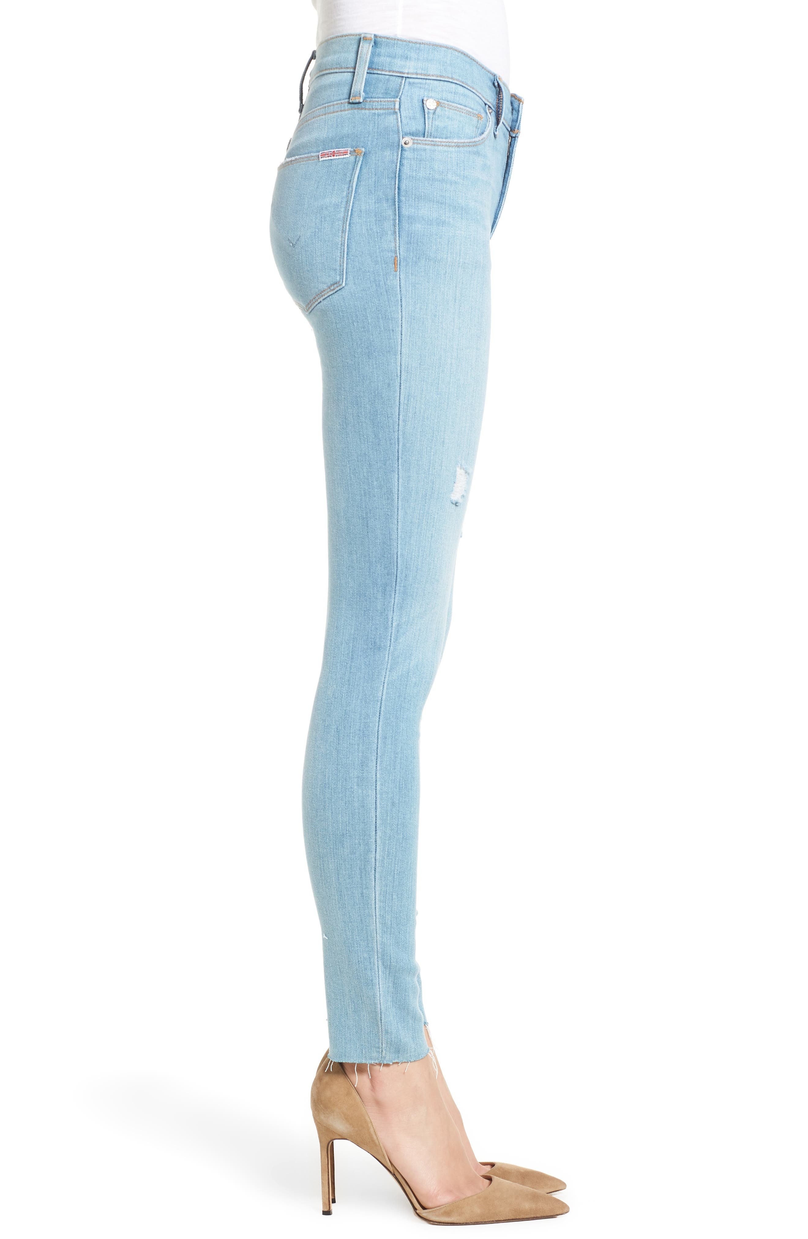 Nico Ankle Super Skinny Jeans,                             Alternate thumbnail 3, color,                             Miss You