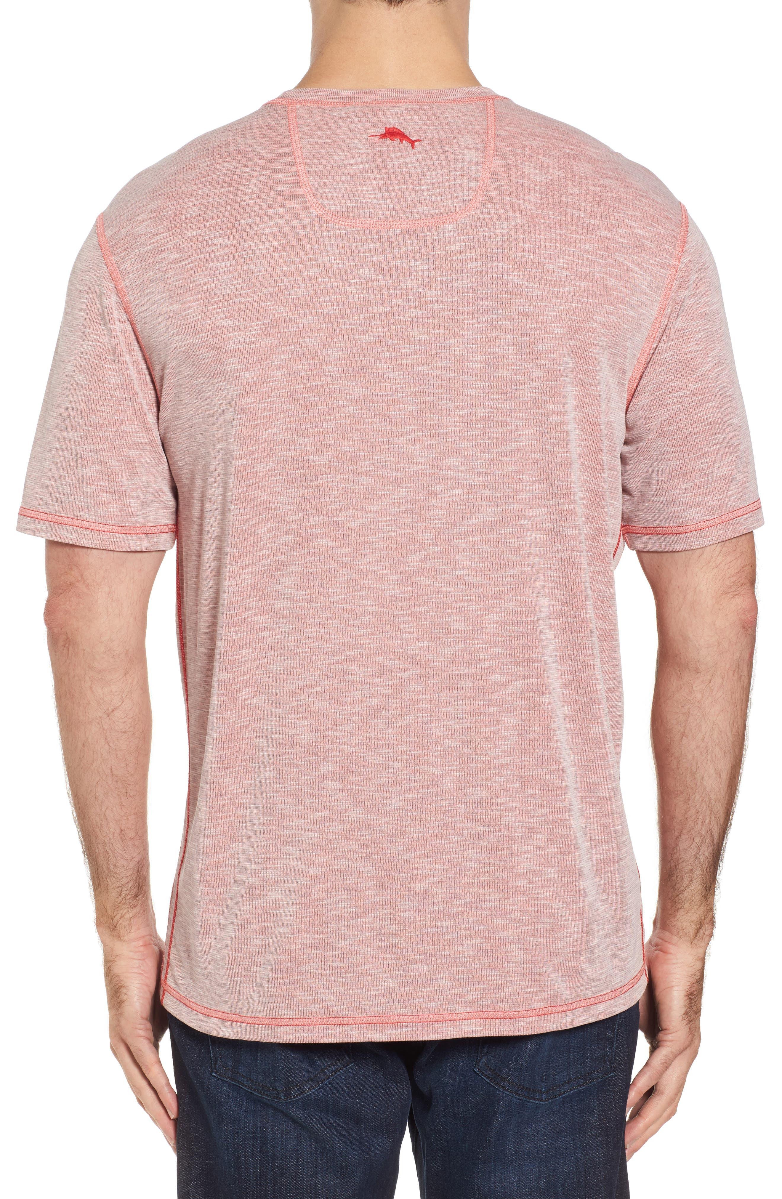 Flip Tide T-Shirt,                             Alternate thumbnail 2, color,                             Red Cherry