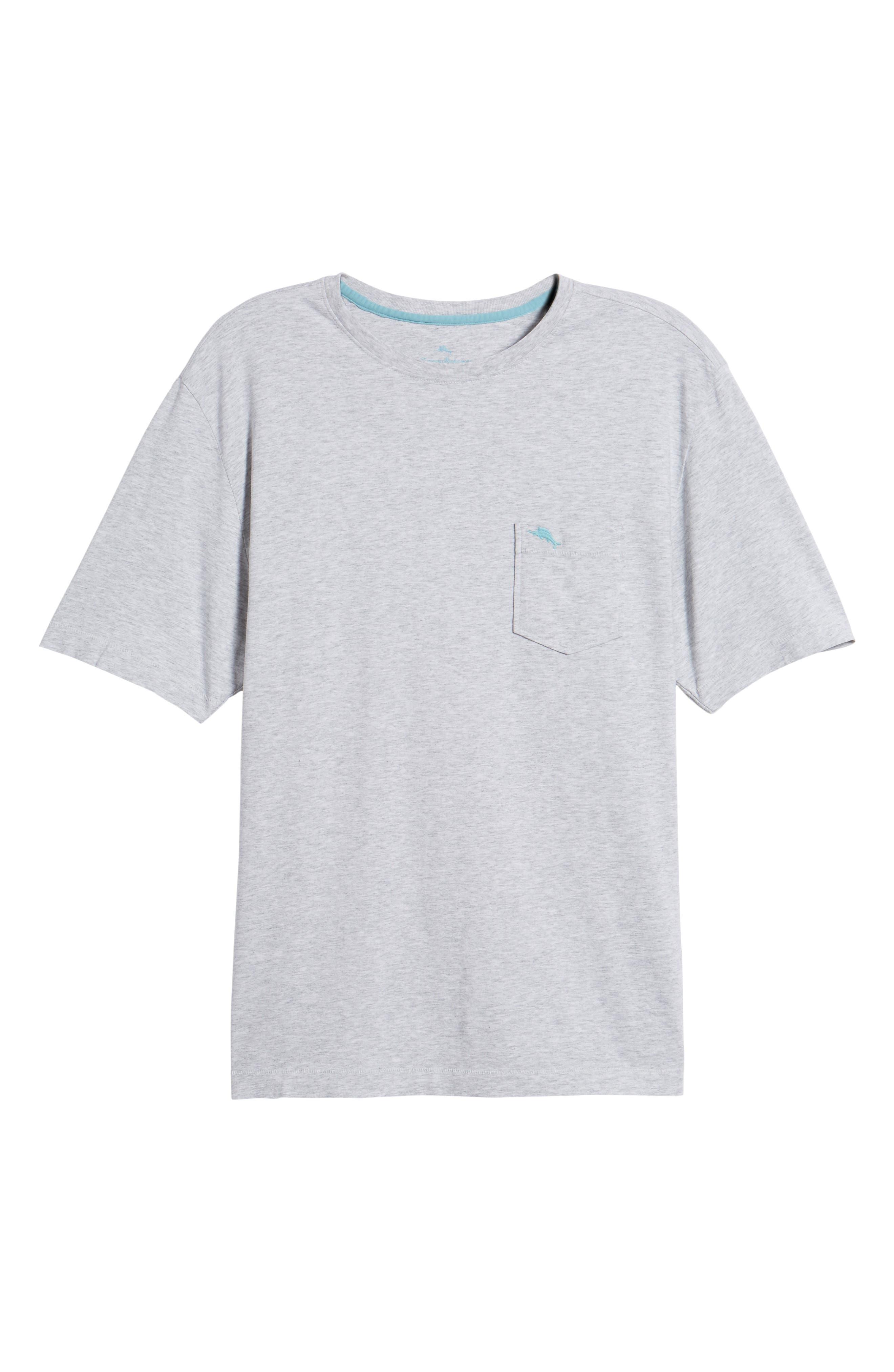New Bali Skyline T-Shirt,                             Alternate thumbnail 6, color,                             Zinc Gray Heather