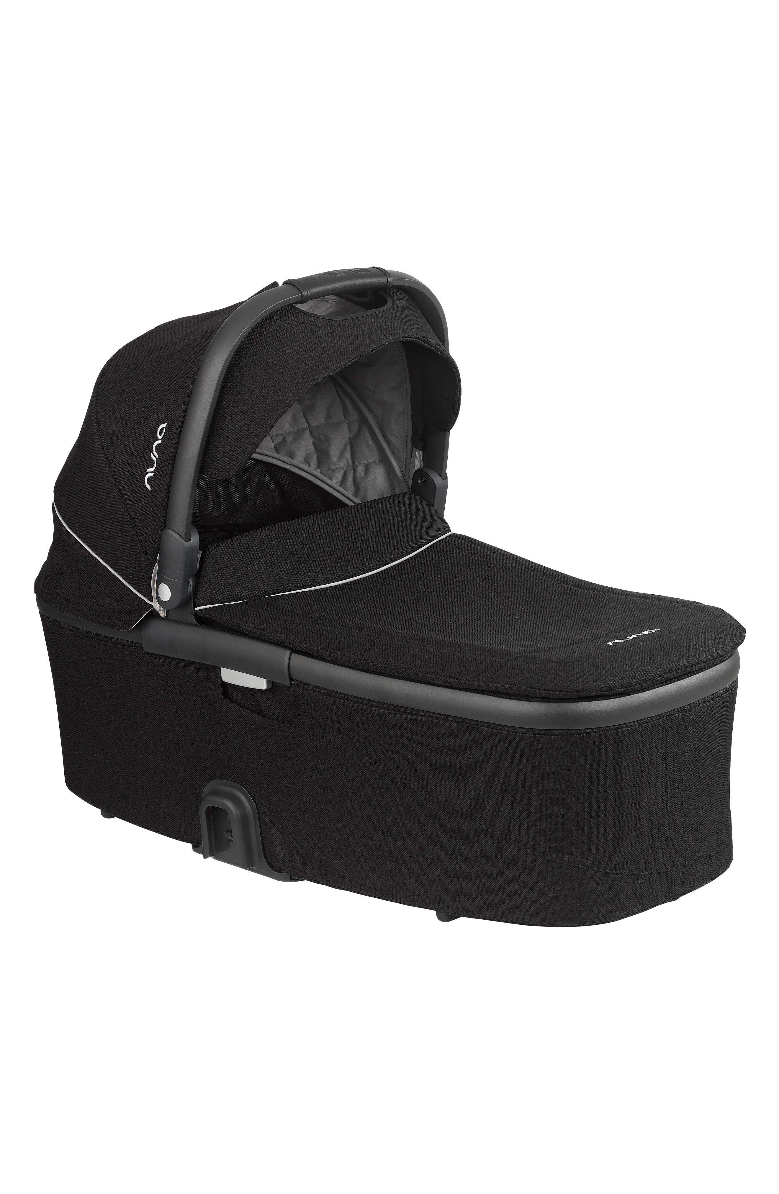 MIXX Bassinet for nuna MIXX Stroller,                         Main,                         color, Caviar