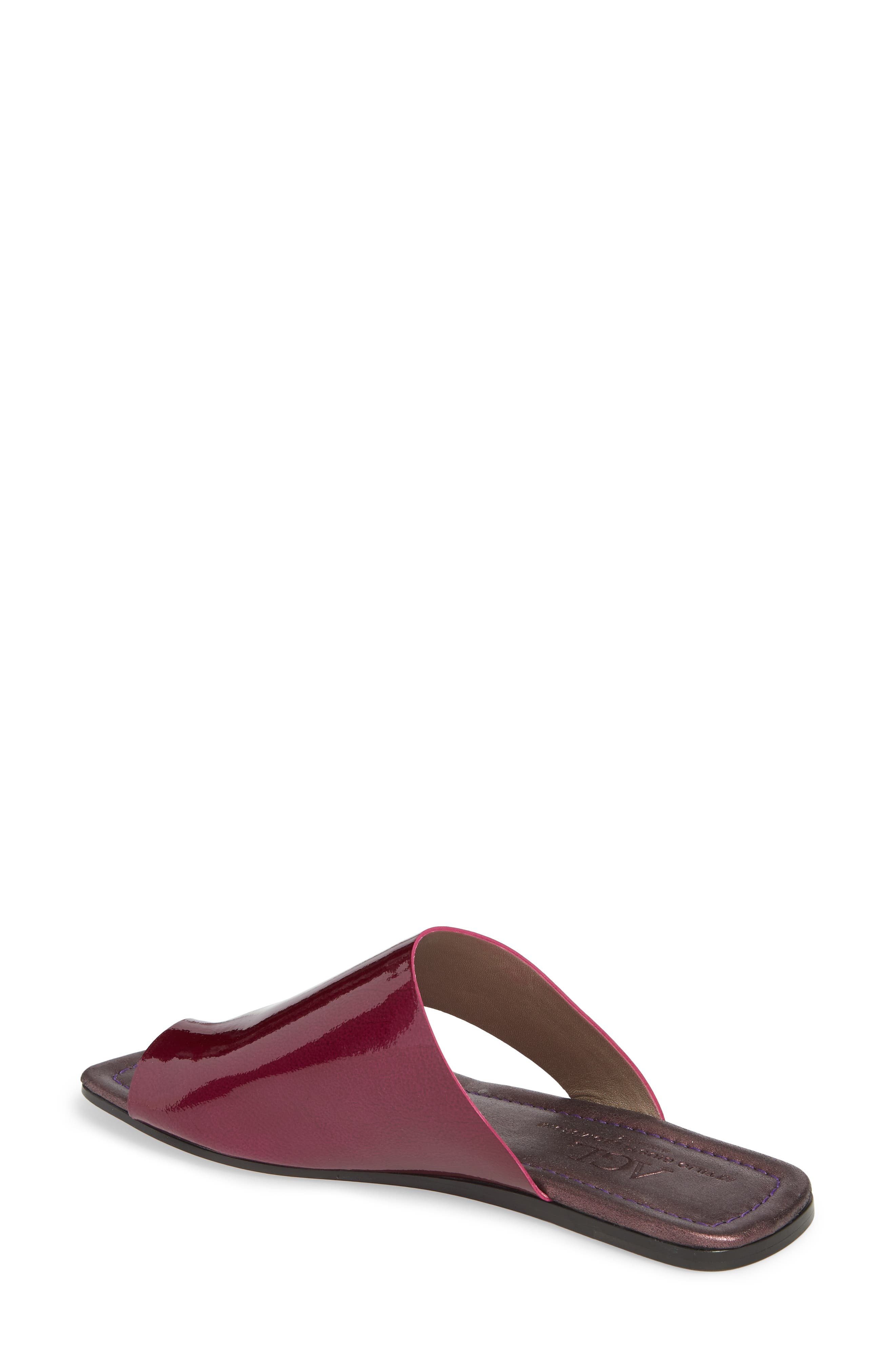 Asymmetrical Toe Thong Sandal,                             Alternate thumbnail 2, color,                             Fuchsia Patent