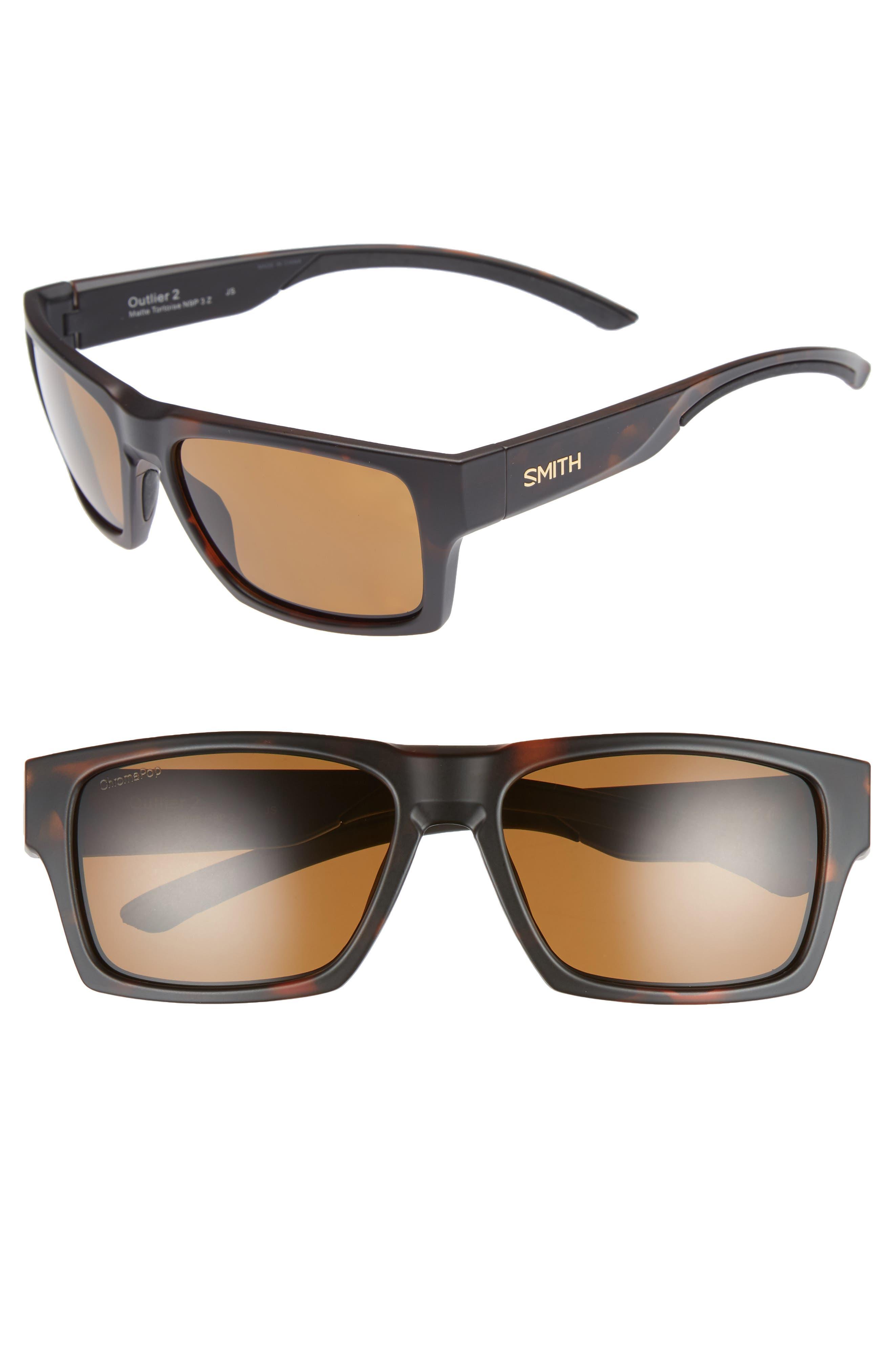 Smith Outlier 2 XL 59mm ChromaPop™ Polarized Sunglasses