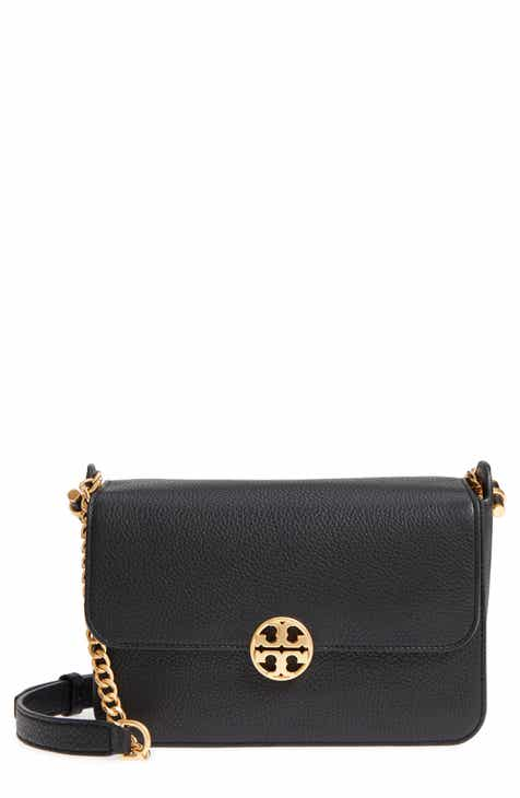 5fa97770cbb9 Tory Burch Chelsea Leather Crossbody Bag