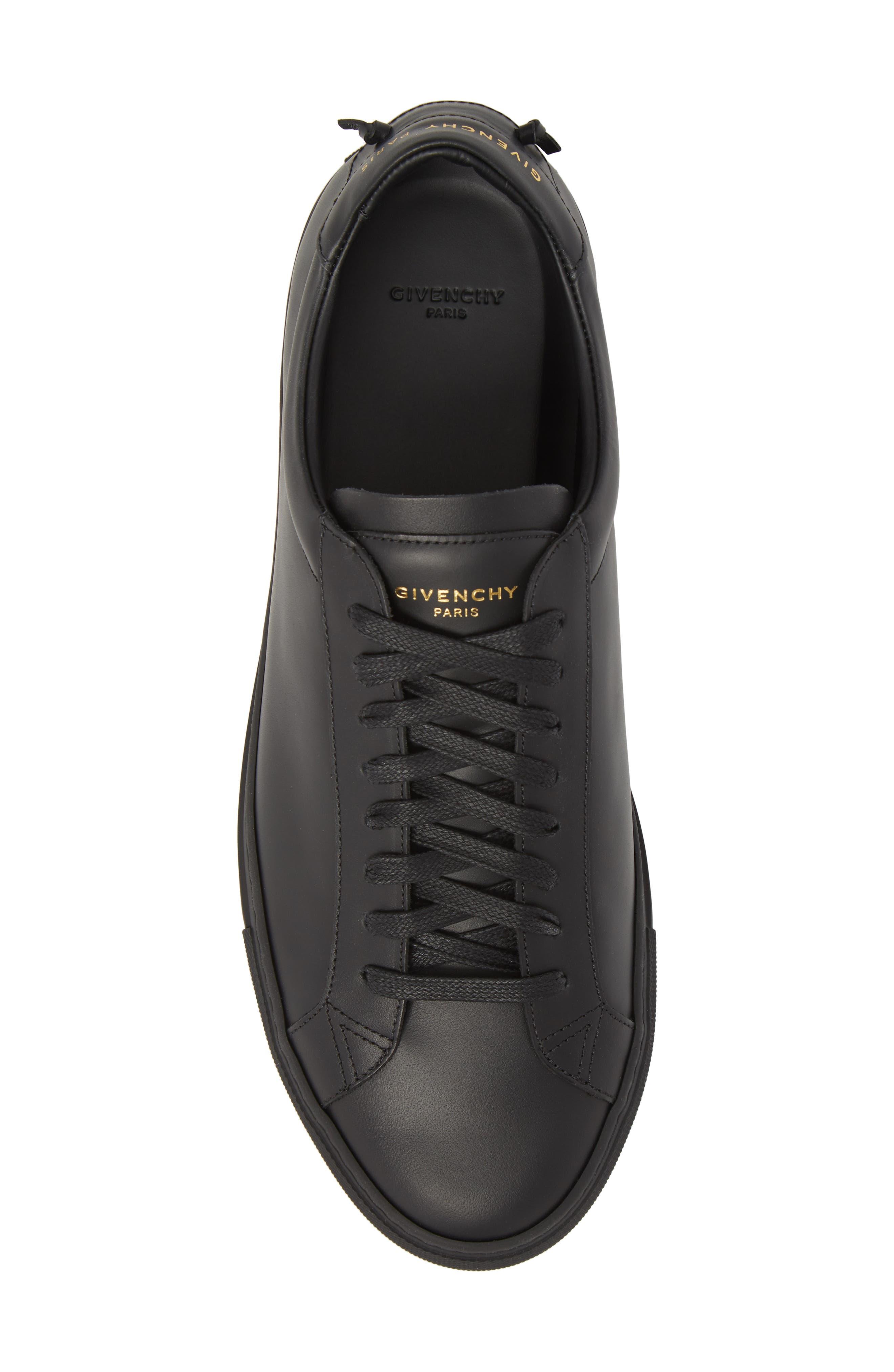 'Urban Knots Lo' Sneaker,                             Alternate thumbnail 5, color,                             Black