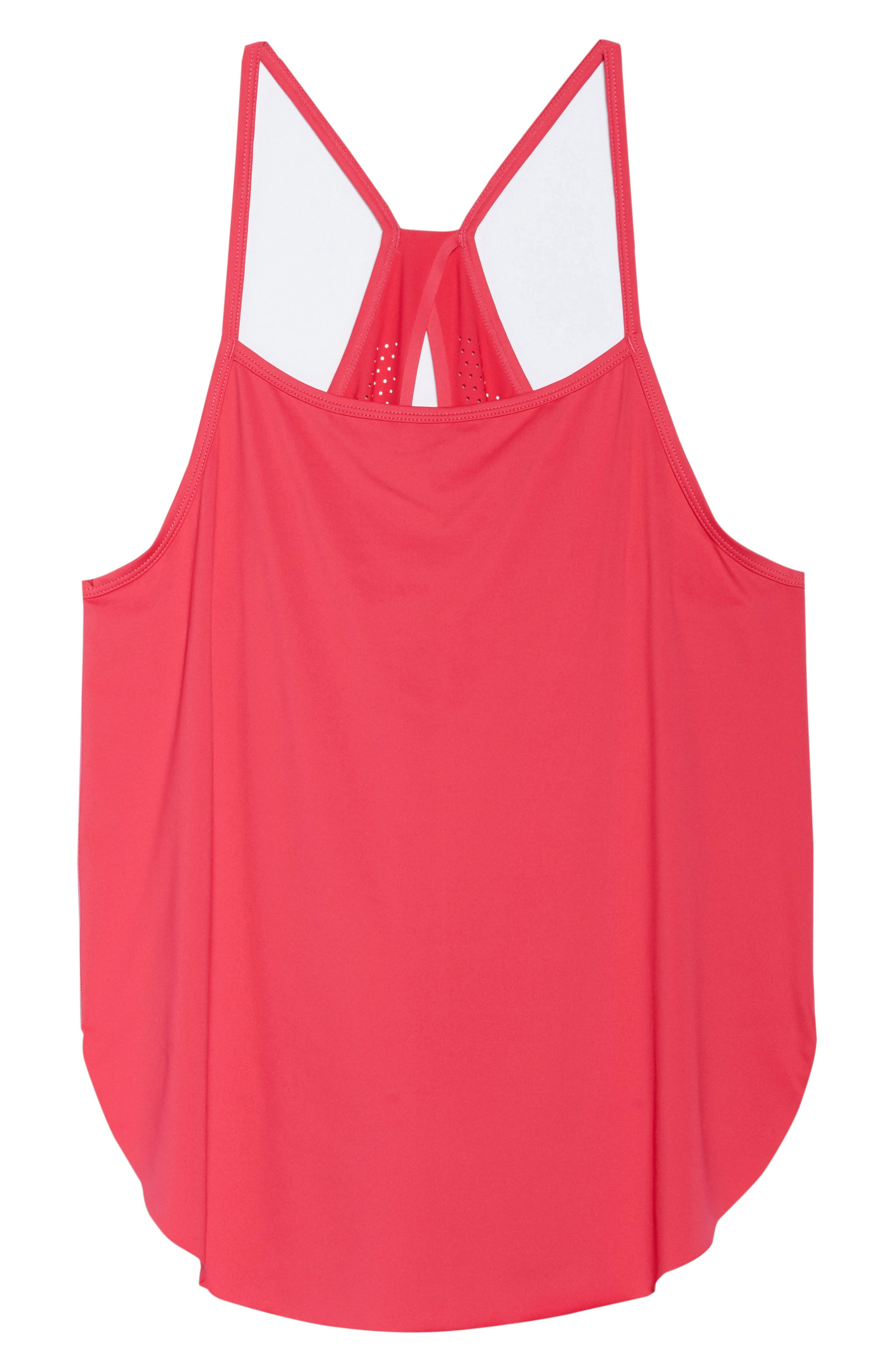 Fera Perforated Tank,                             Alternate thumbnail 7, color,                             Red Desire
