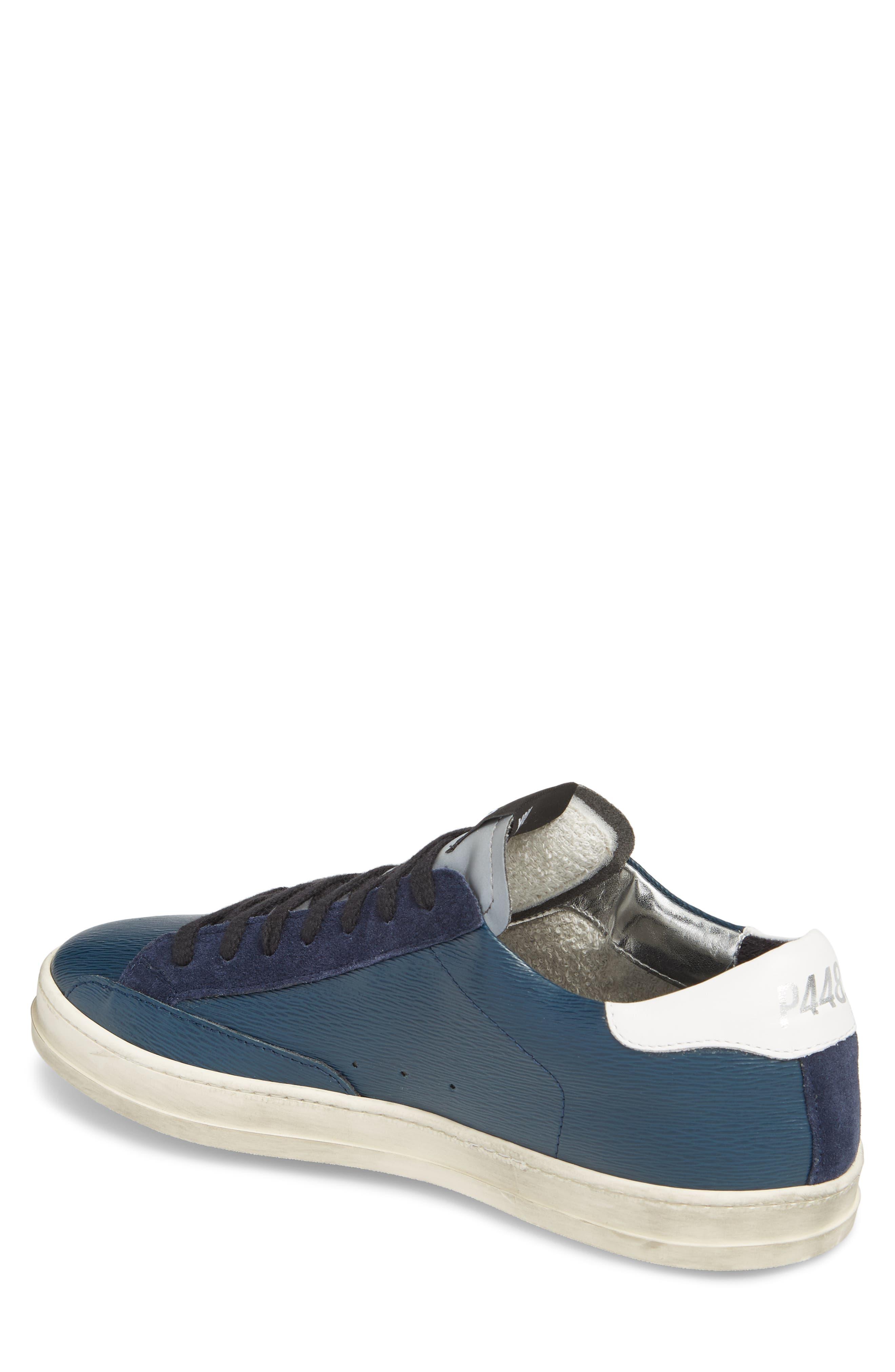 John Low Top Sneaker,                             Alternate thumbnail 2, color,                             Navy