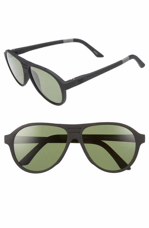 e8198fcc872b TOMS Traveler Zion 58mm Polarized Aviator Sunglasses