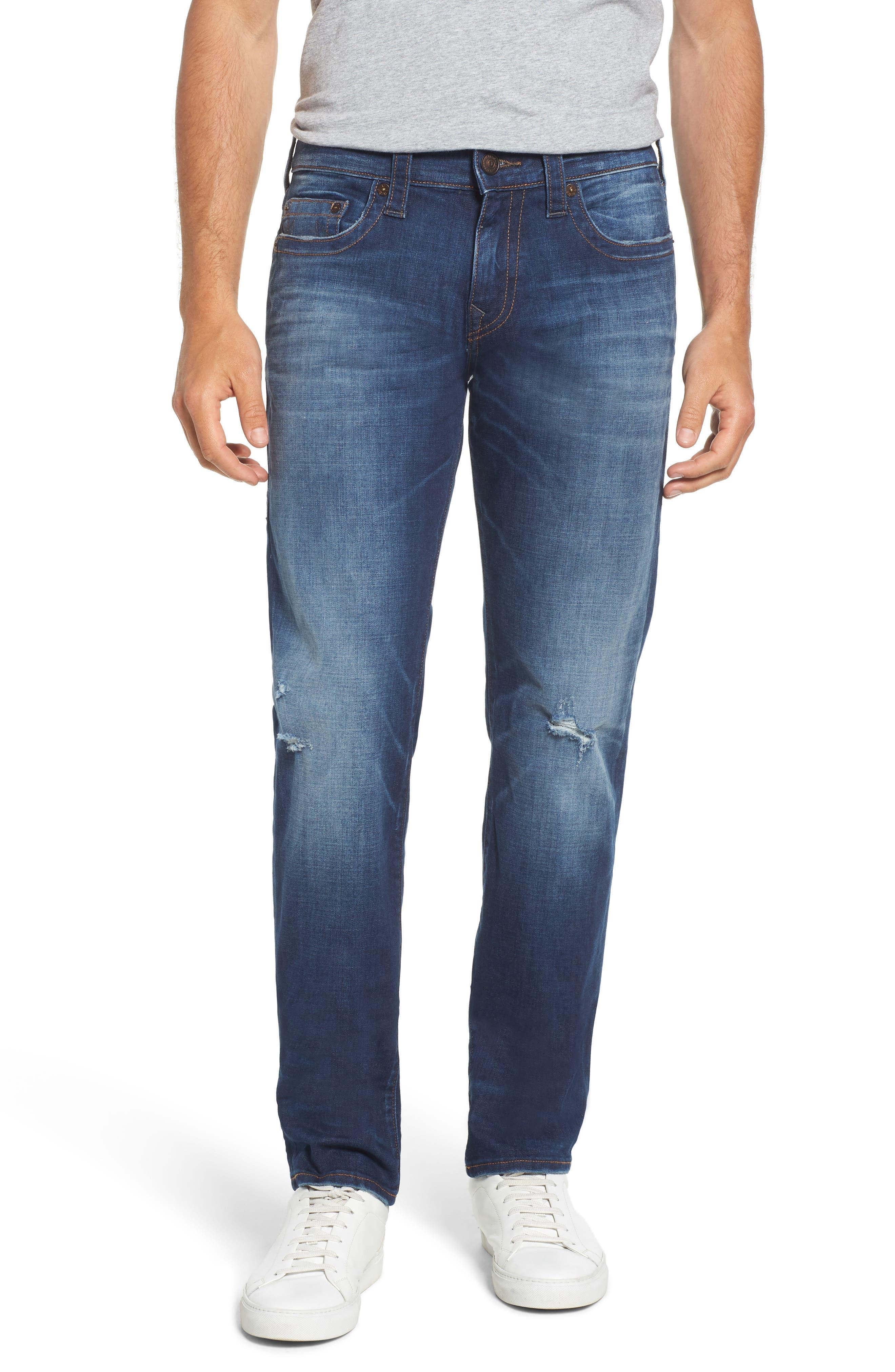 Geno Straight Leg Jeans,                         Main,                         color, Suspect