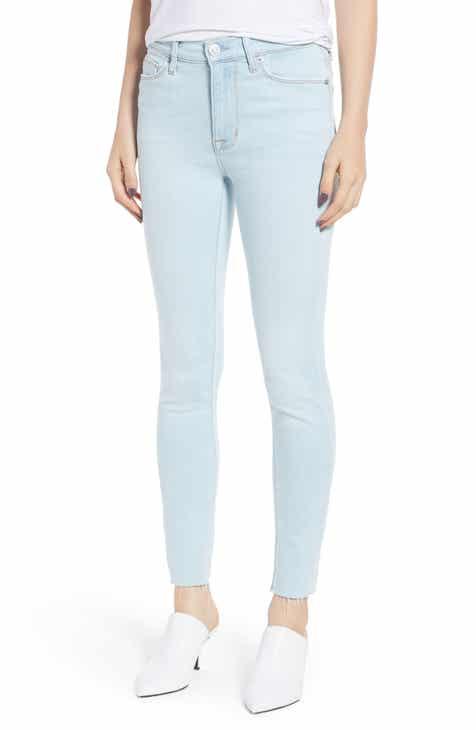 Hudson Jeans Barbara High Waist Crop Skinny Jeans (In Love)