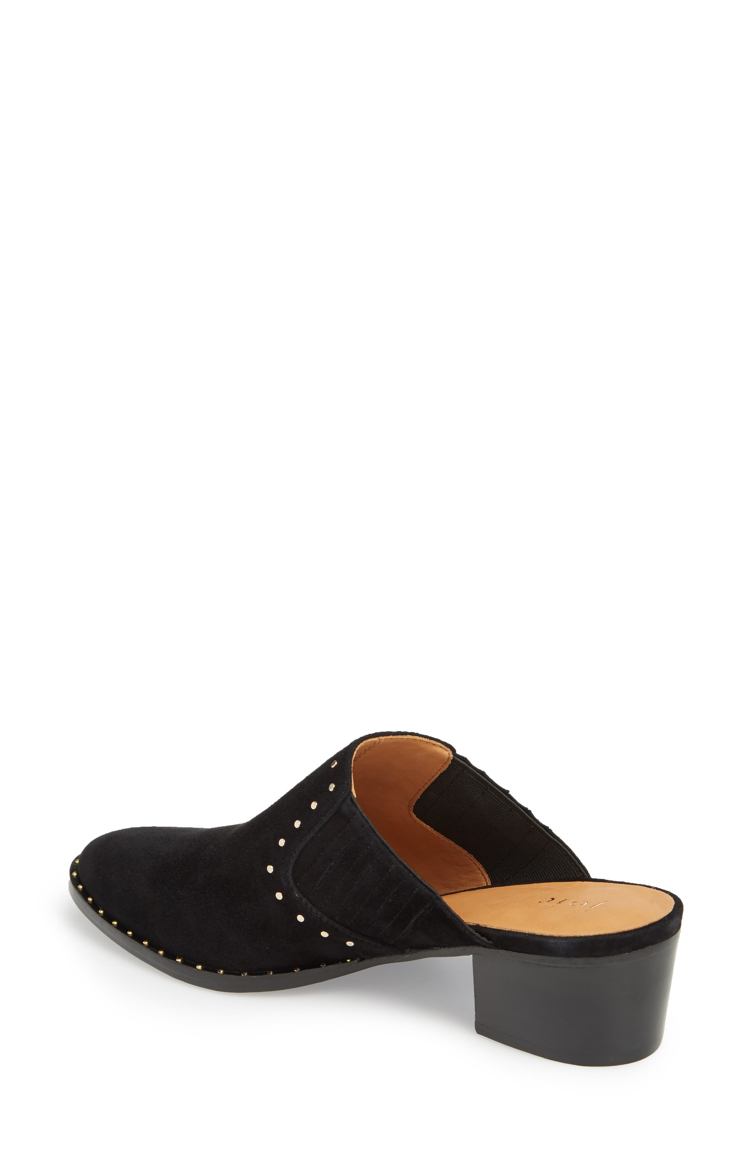 Fayla Studded Mule,                             Alternate thumbnail 2, color,                             Nero