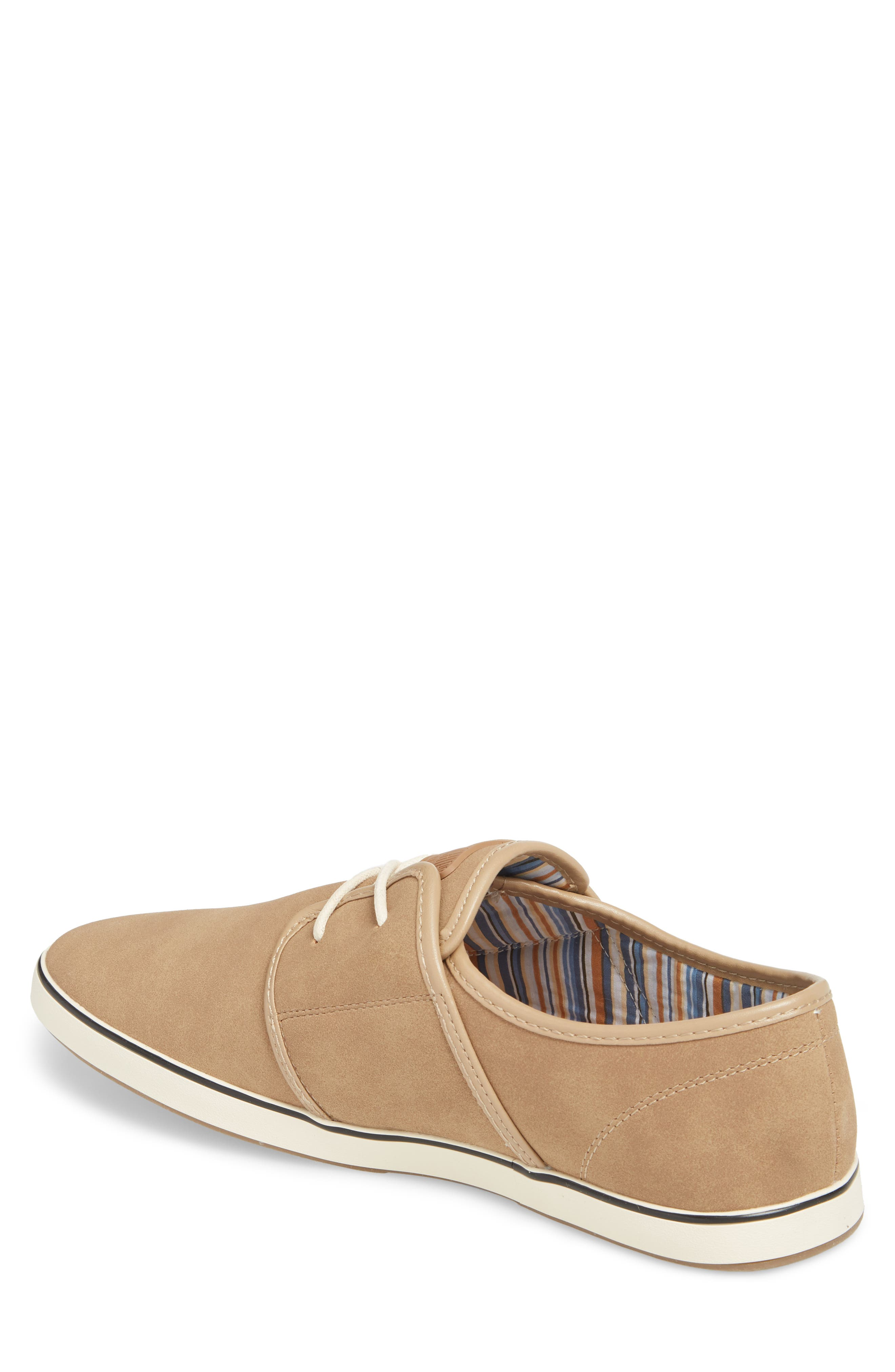 Fish 'N' Chips Surrey Low Top Sneaker,                             Alternate thumbnail 2, color,                             Soft Clay Faux Suede