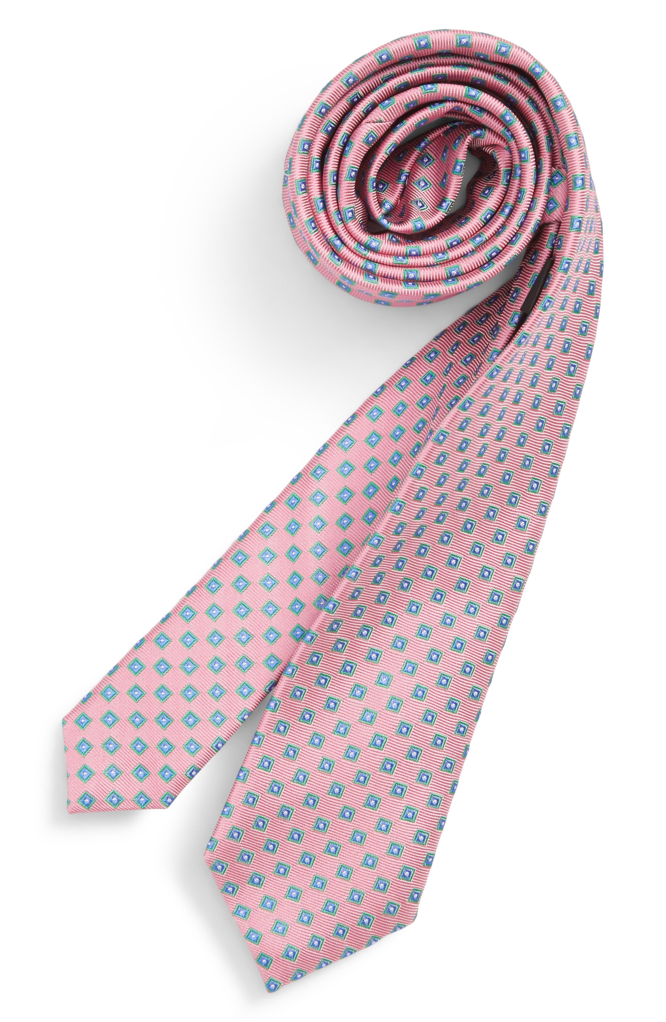 Nordstrom Piazza Geometric Silk Tie (Big Boys)