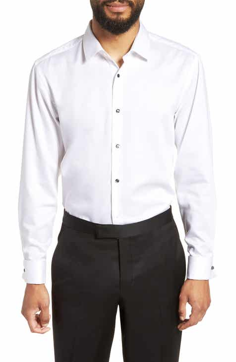 Boss Jasper Slim Fit Tuxedo Shirt