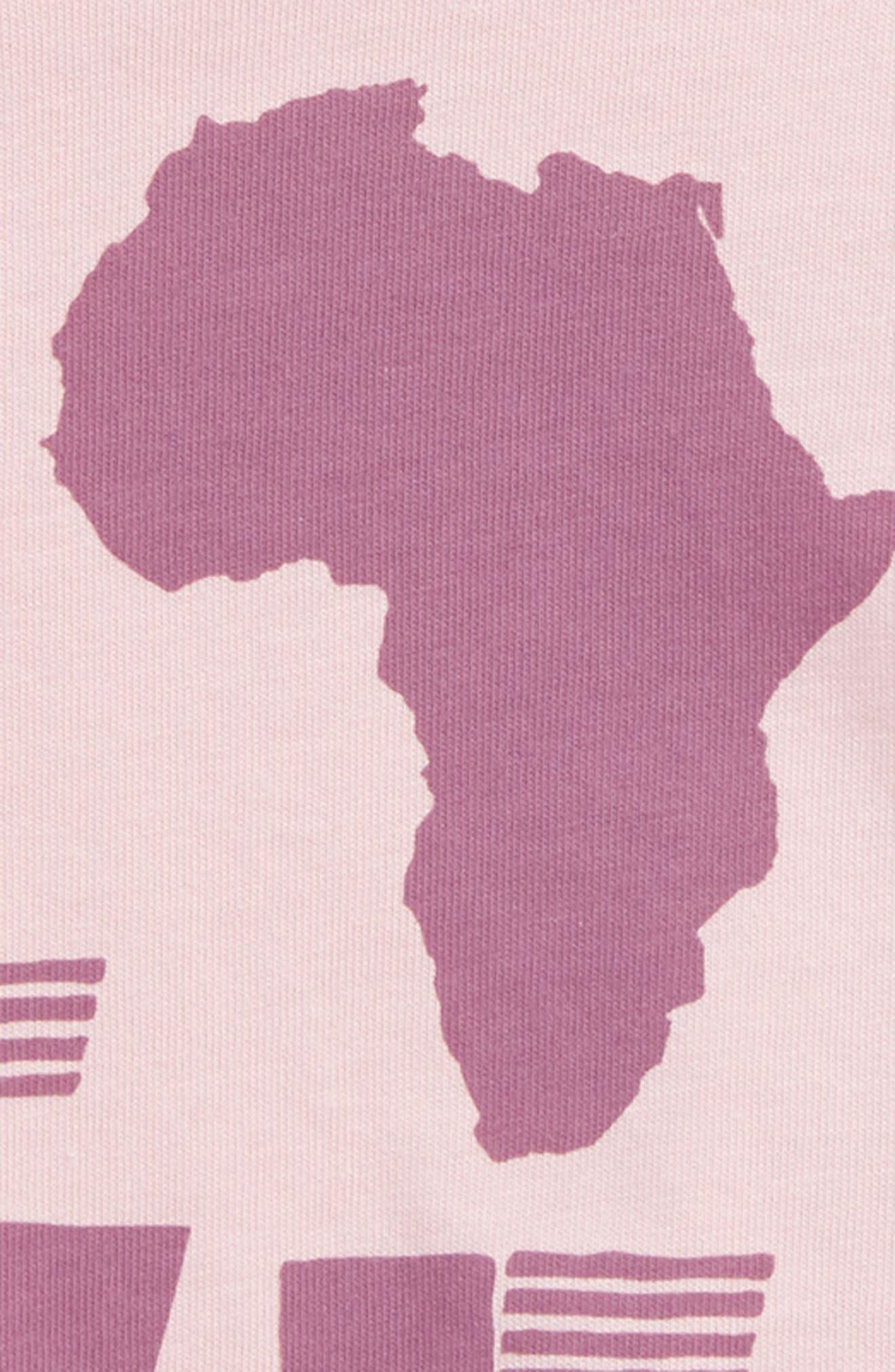 Peek Love Africa Tee,                             Alternate thumbnail 2, color,                             Blush