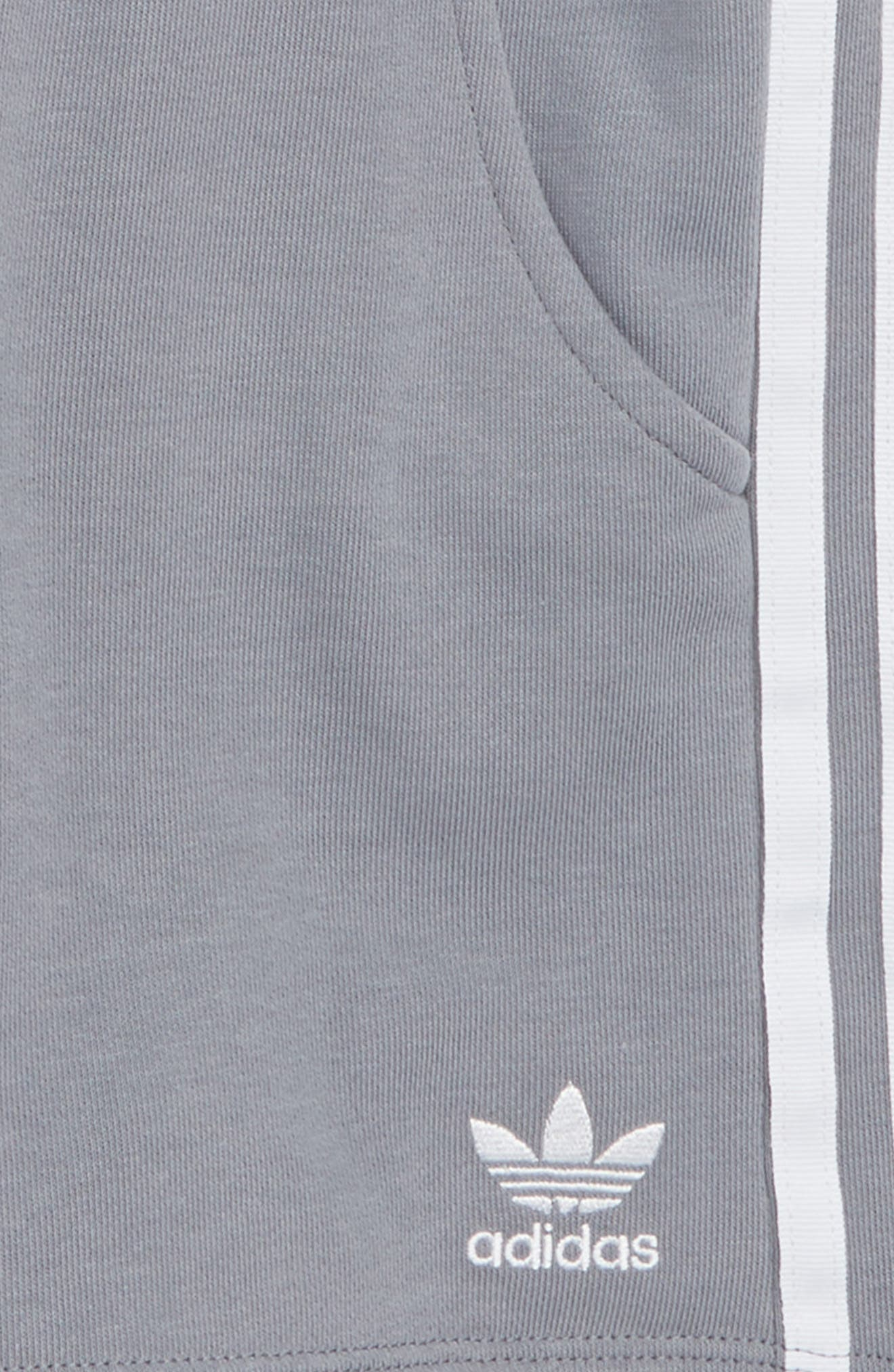 Logo Shorts,                             Alternate thumbnail 2, color,                             Grey