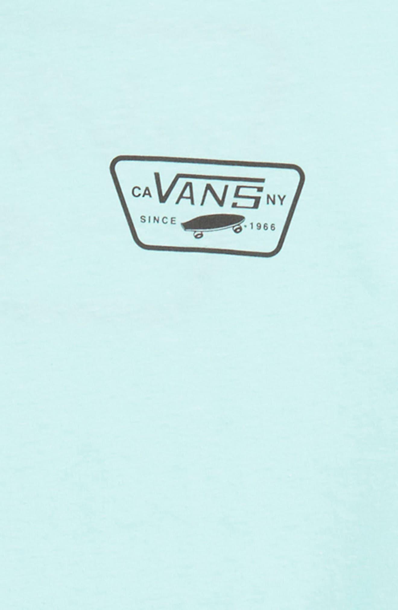 Logo Graphic T-Shirt,                             Alternate thumbnail 3, color,                             Mint