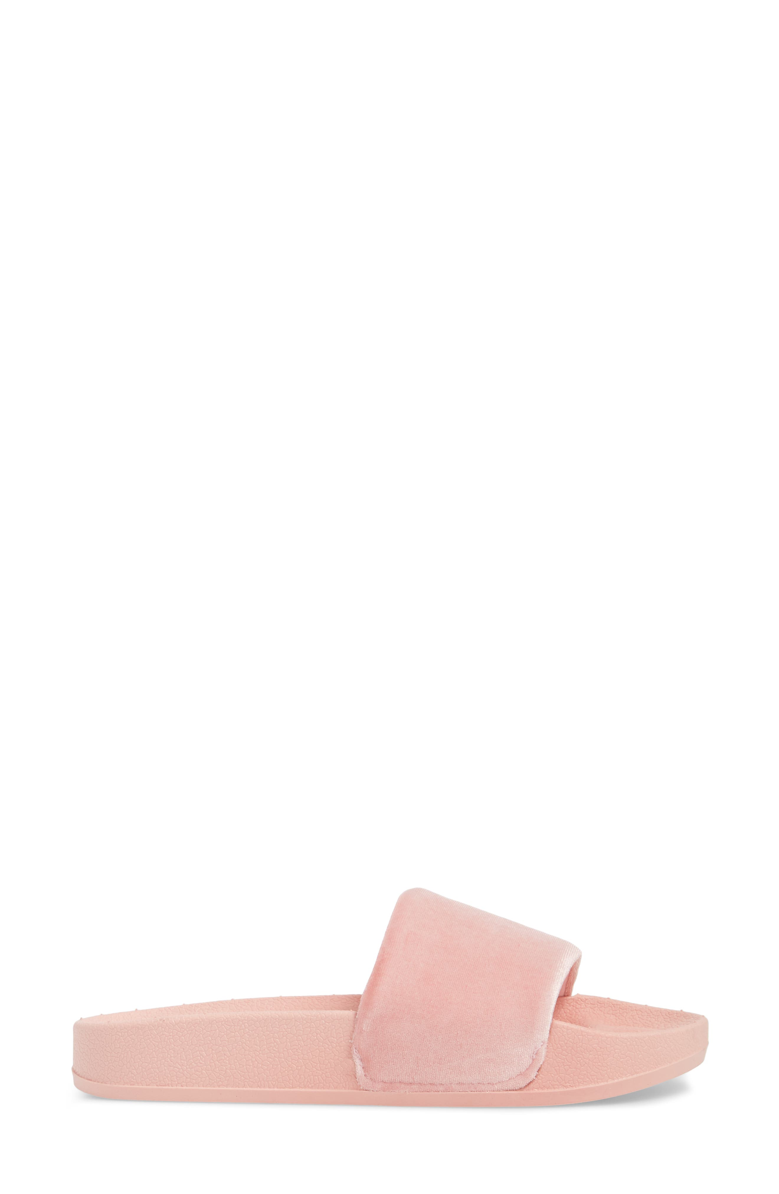 Slide Sandal,                             Alternate thumbnail 3, color,                             Blush