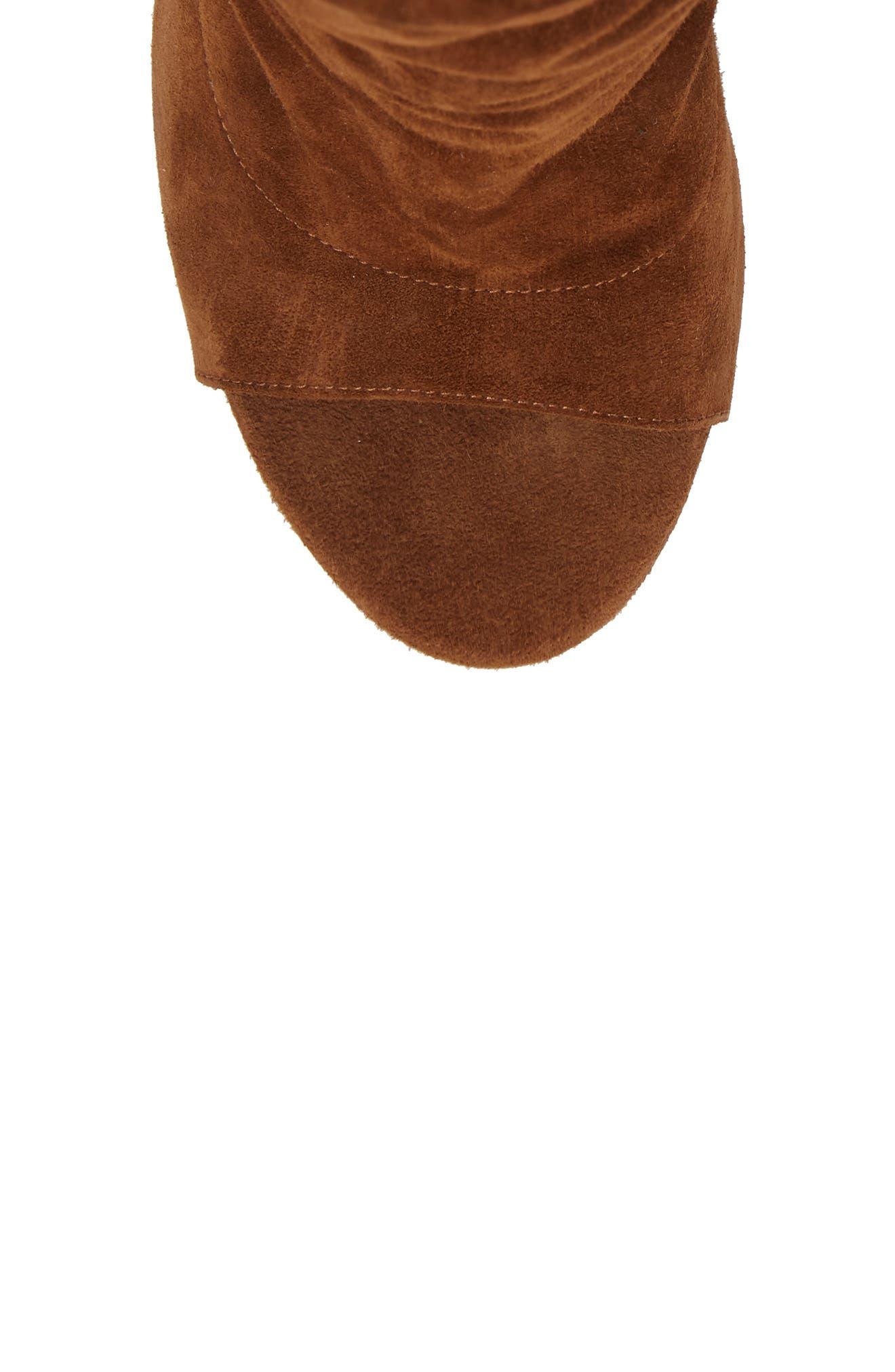 Alternate Image 5  - Aquazzura Touché Open Toe Boot (Women)