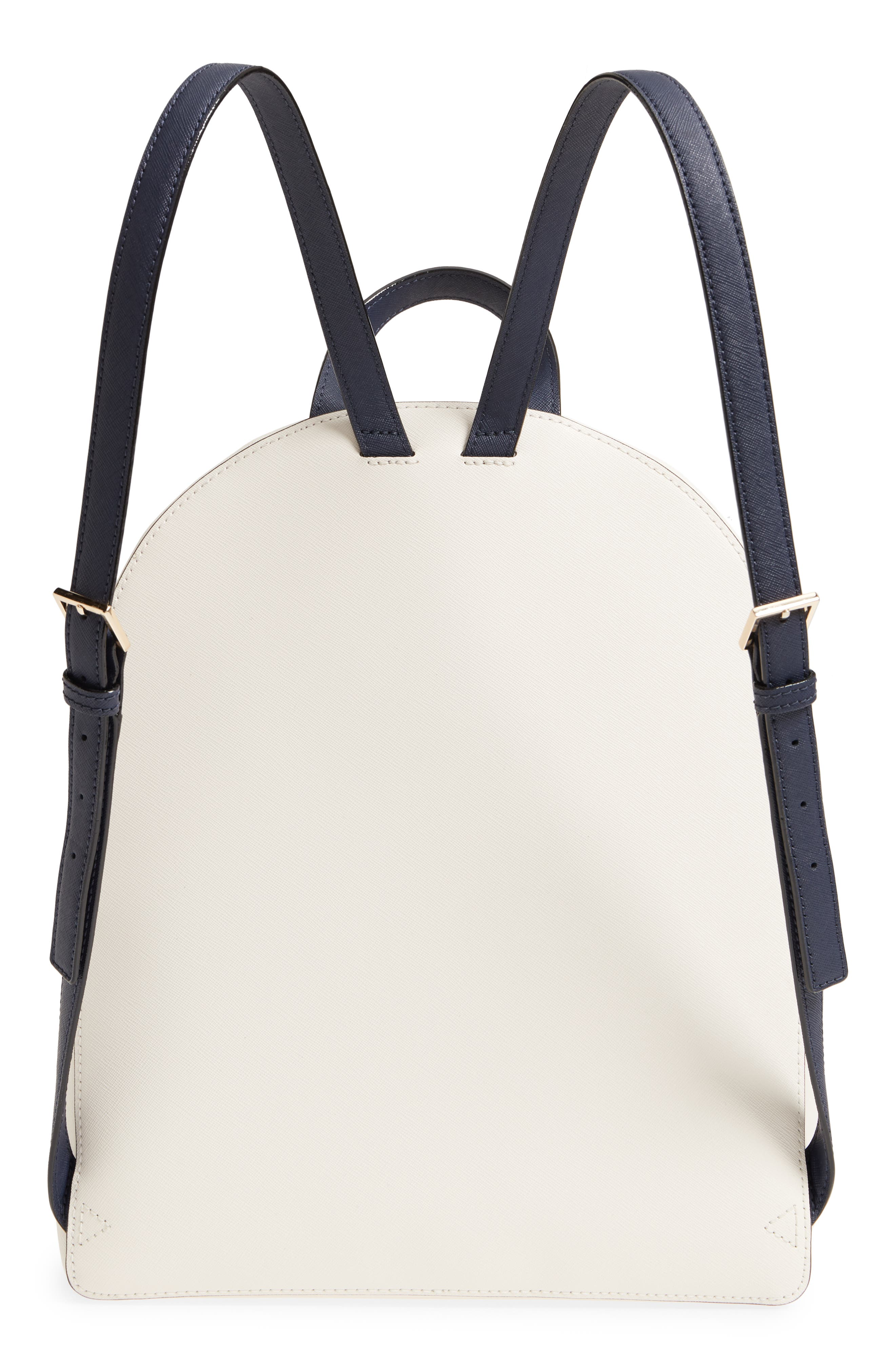 cameron street – hartley leather backpack,                             Alternate thumbnail 3, color,                             Cement/ Morning Multi