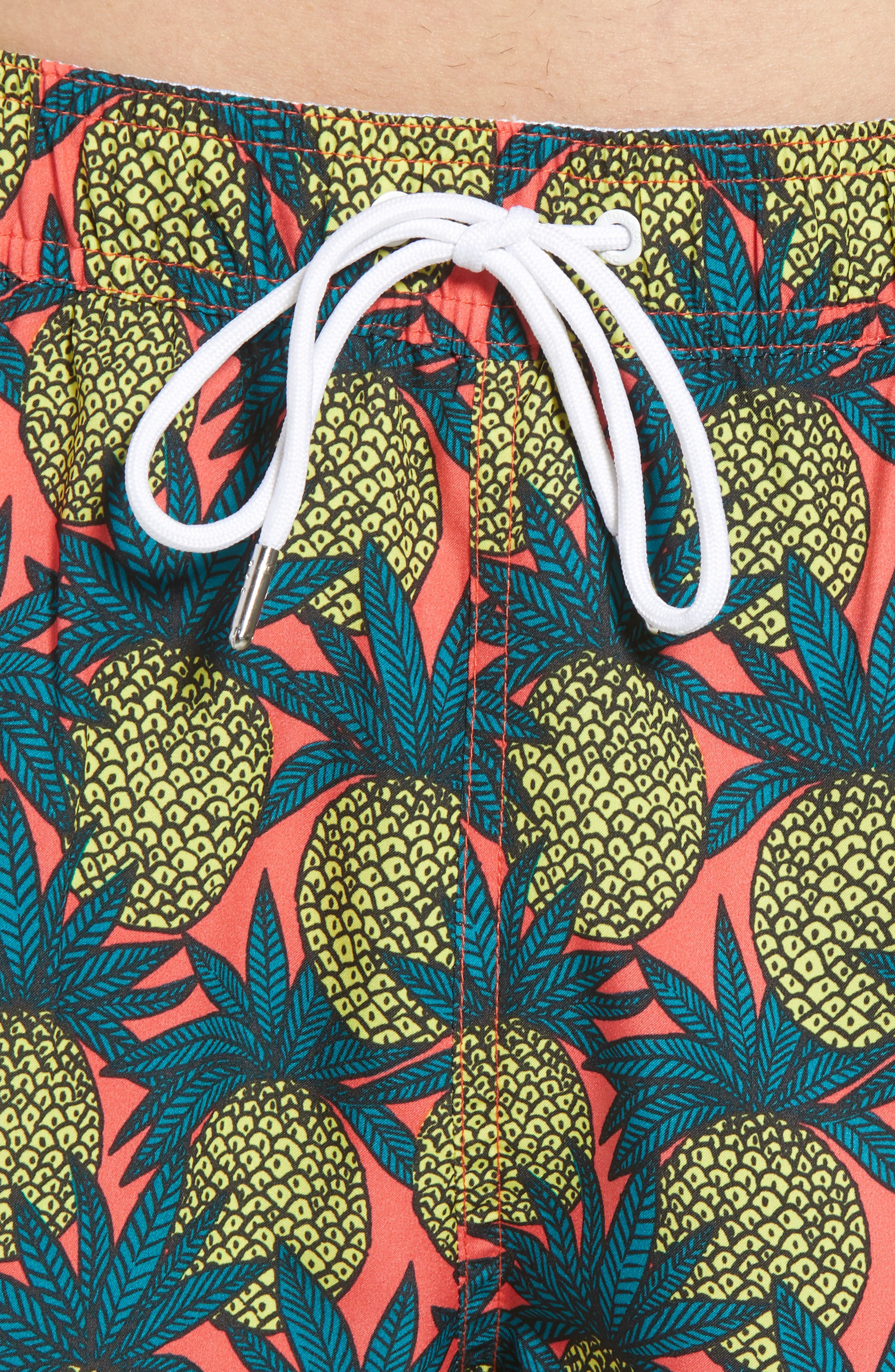 Banzai 7-Inch Swim Trunks,                             Alternate thumbnail 4, color,                             Pineapple Fields