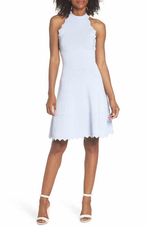 Ted Baker London Abequa Lace Yoke Skater Dress by TED BAKER LONDON