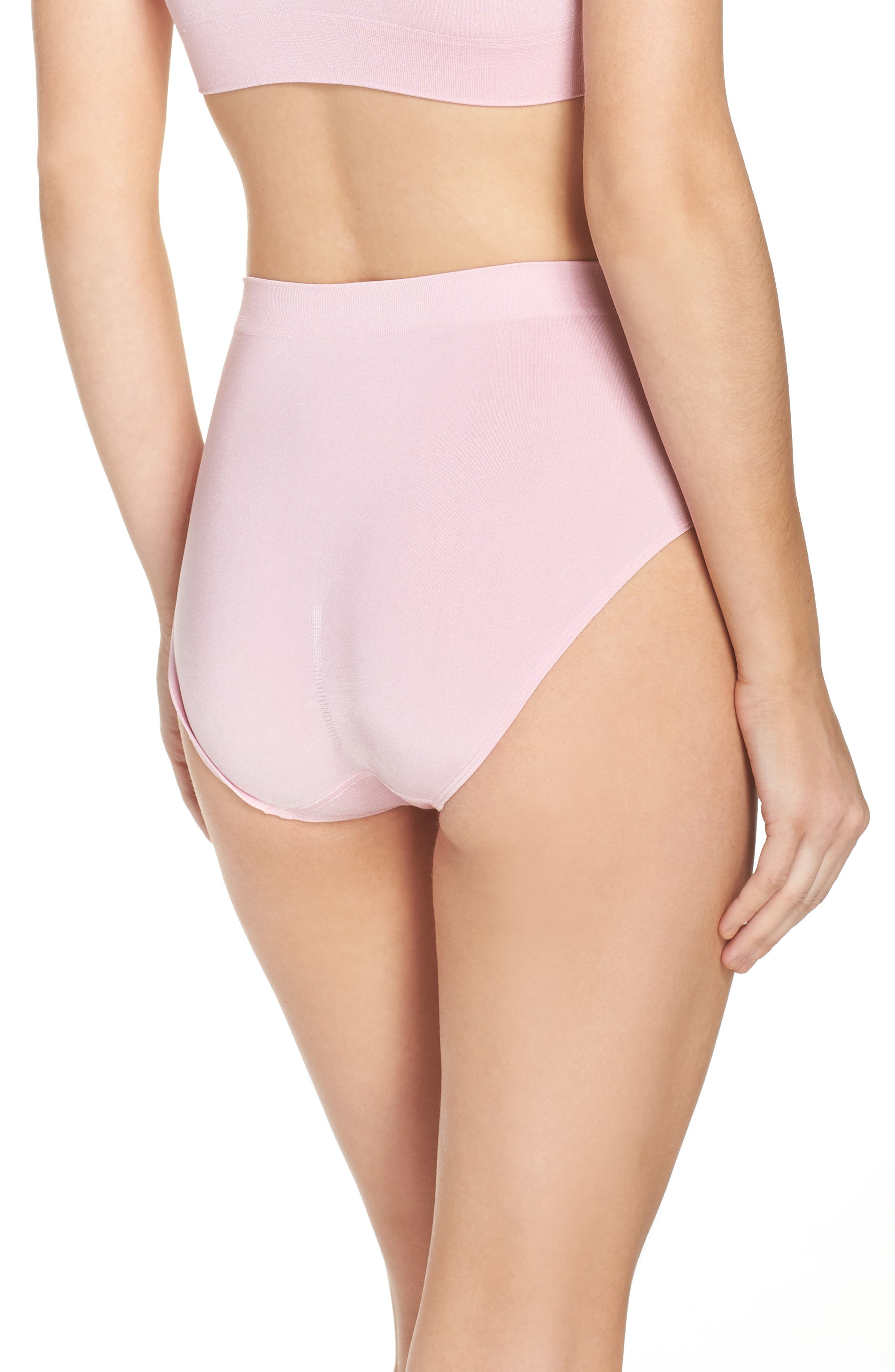 B Smooth Briefs,                             Alternate thumbnail 2, color,                             Cameo Pink