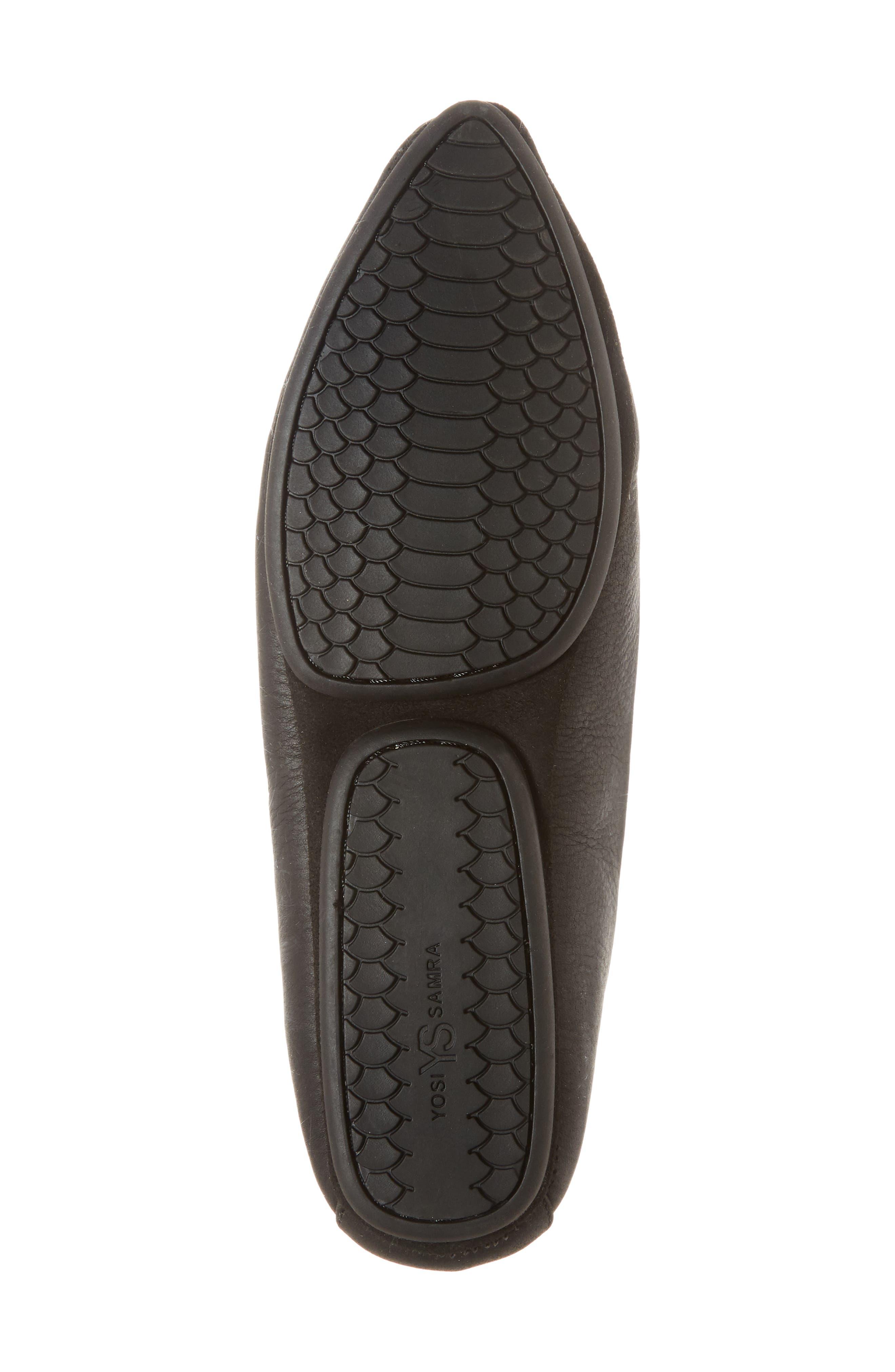 Vera Loafer,                             Alternate thumbnail 6, color,                             Black Stud Leather