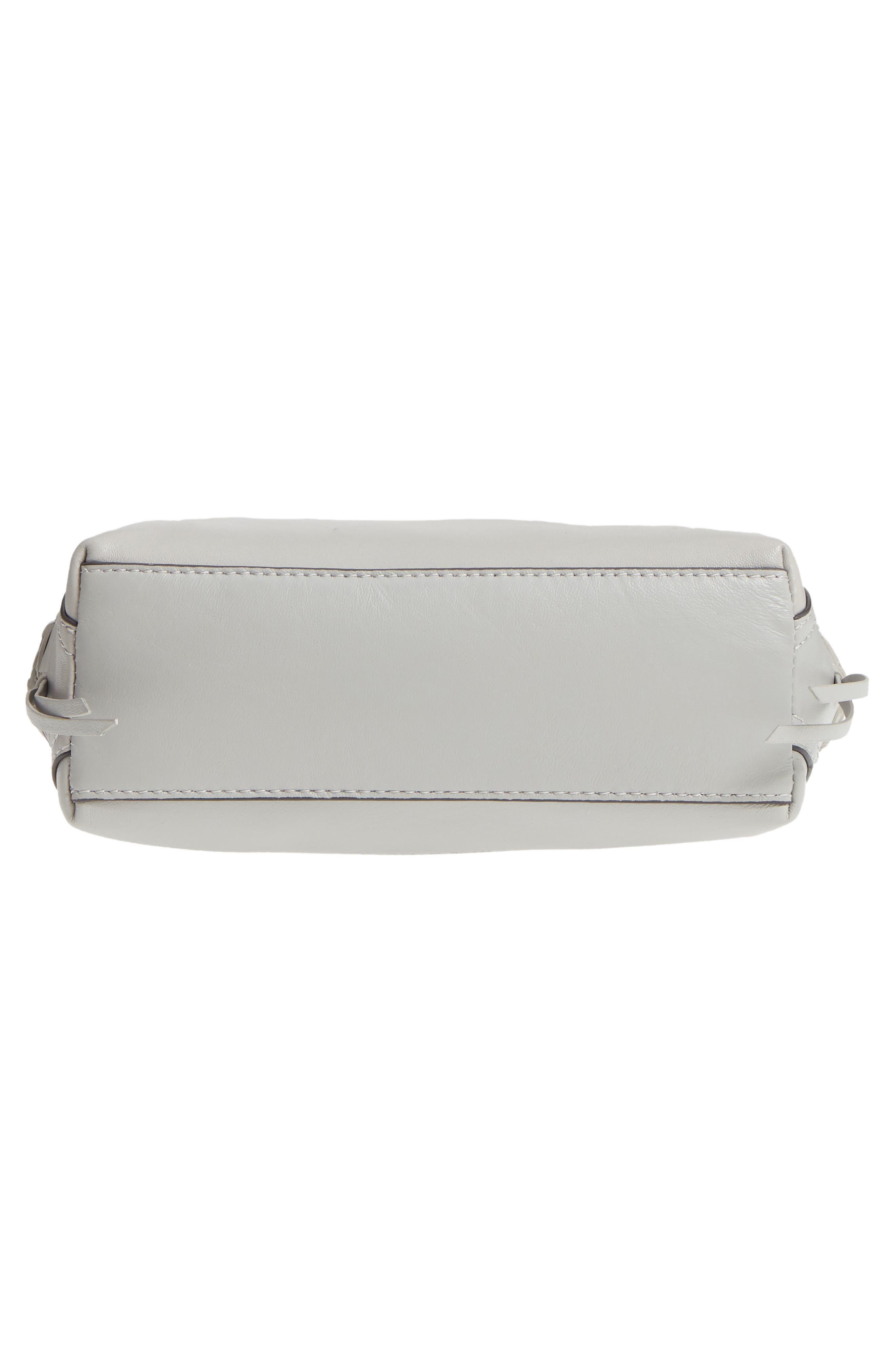 Ilda Leather Crossbody Bag,                             Alternate thumbnail 6, color,                             Full Steam