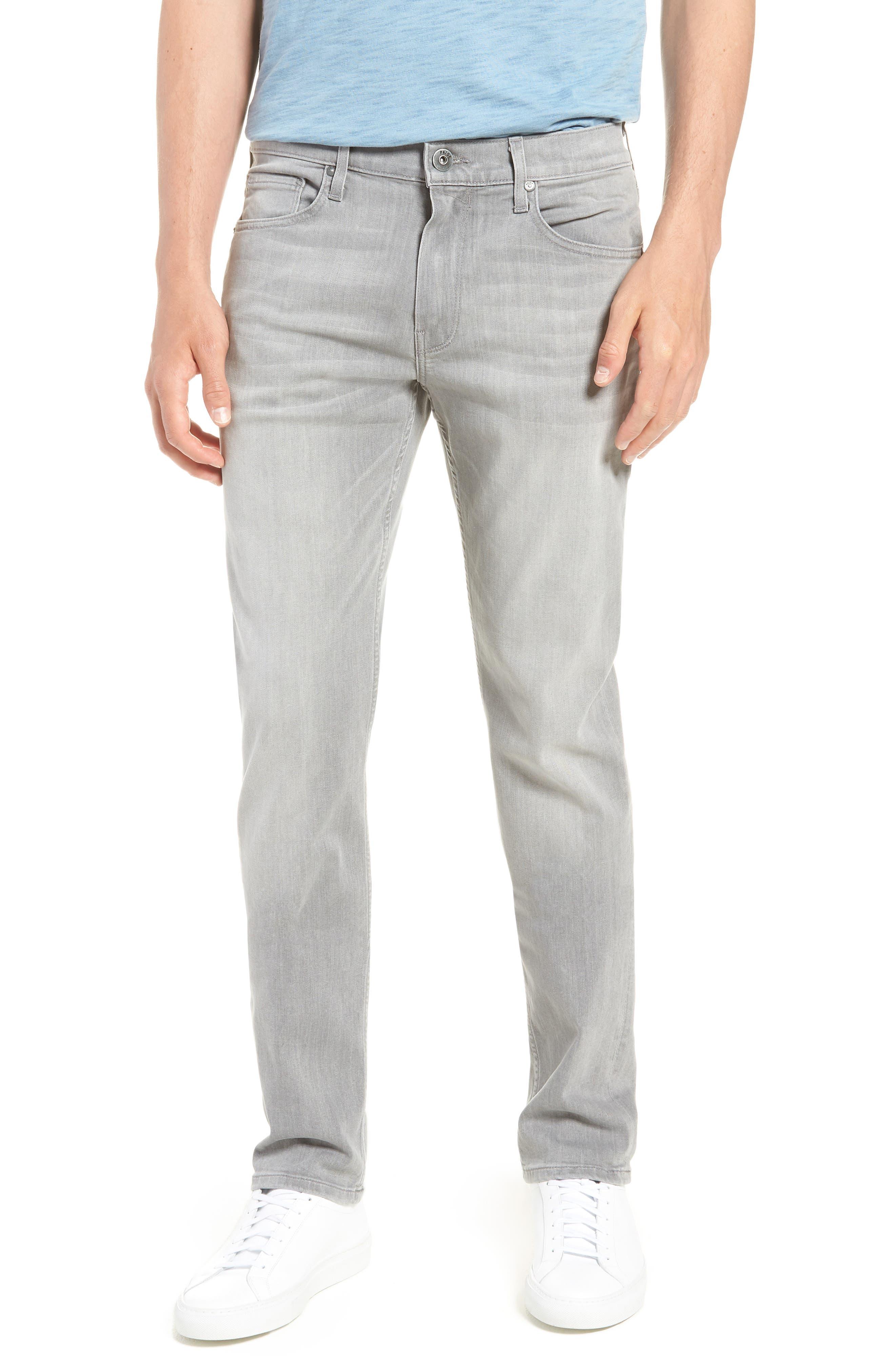 Transcend - Lennox Slim Fit Jeans,                             Main thumbnail 1, color,                             Mannor