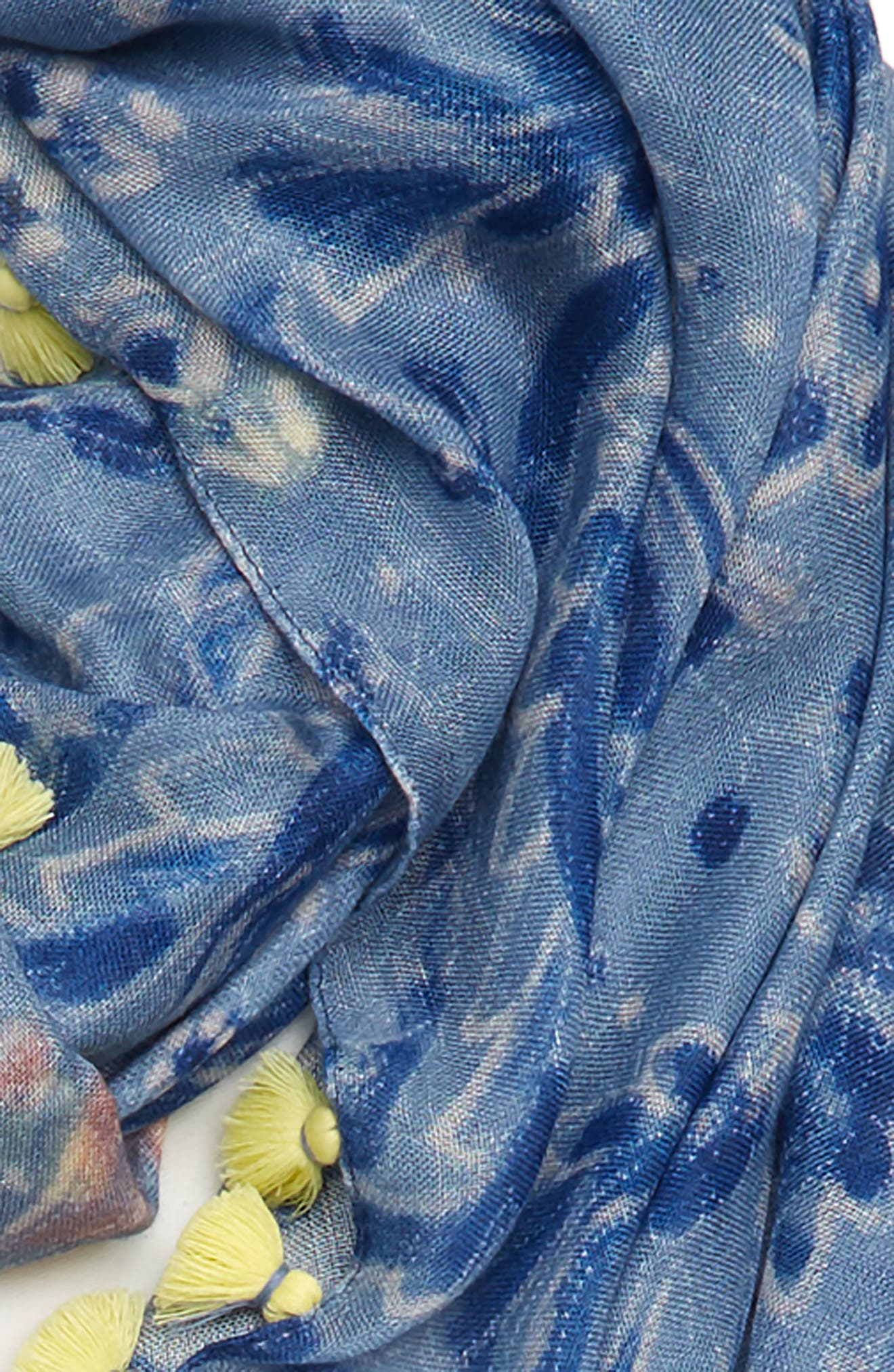 Print Pareo,                             Alternate thumbnail 3, color,                             Blue Desert Paisley