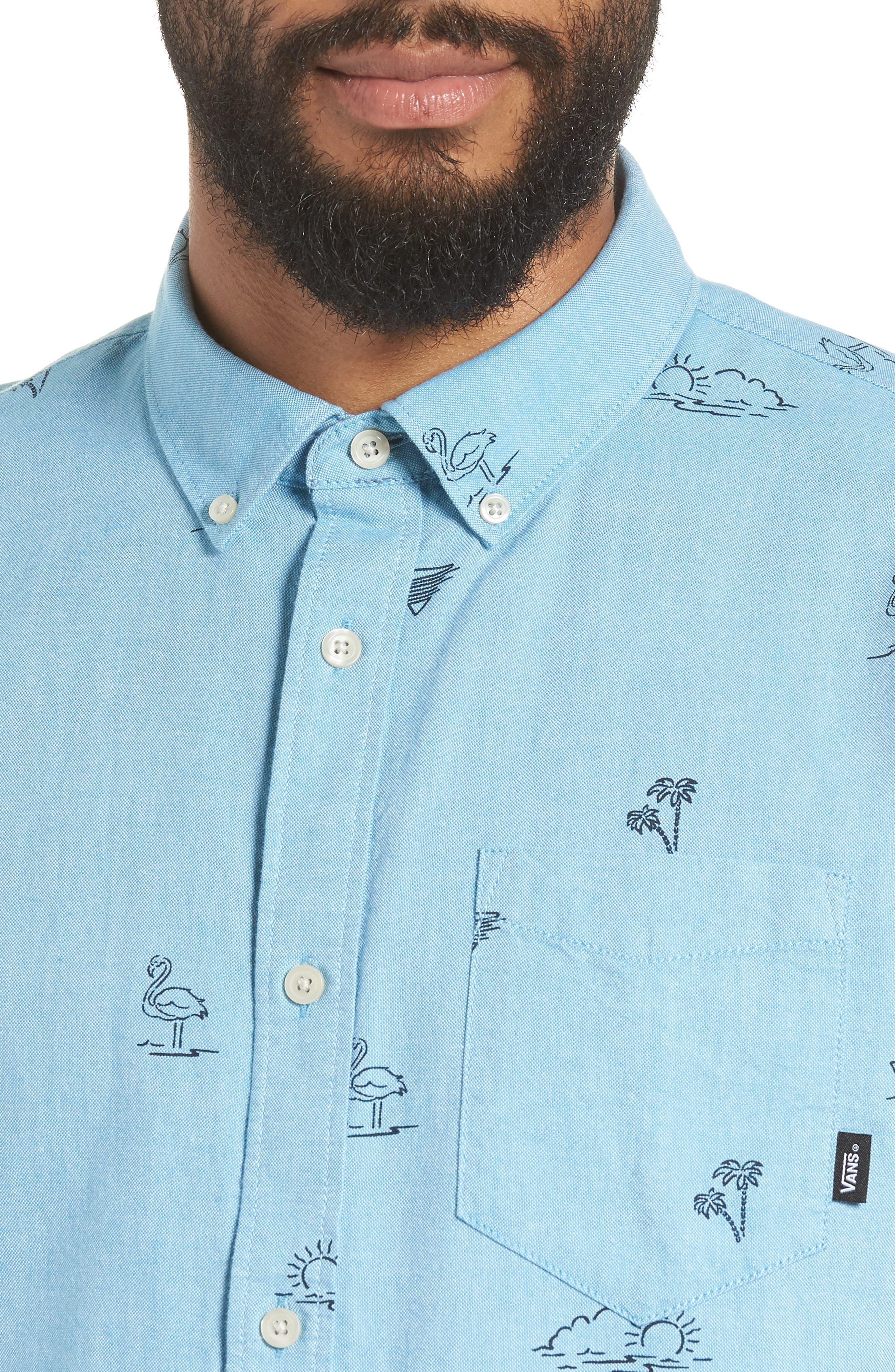 Houser Woven Shirt,                             Alternate thumbnail 2, color,                             Blue Moon Road Trippin