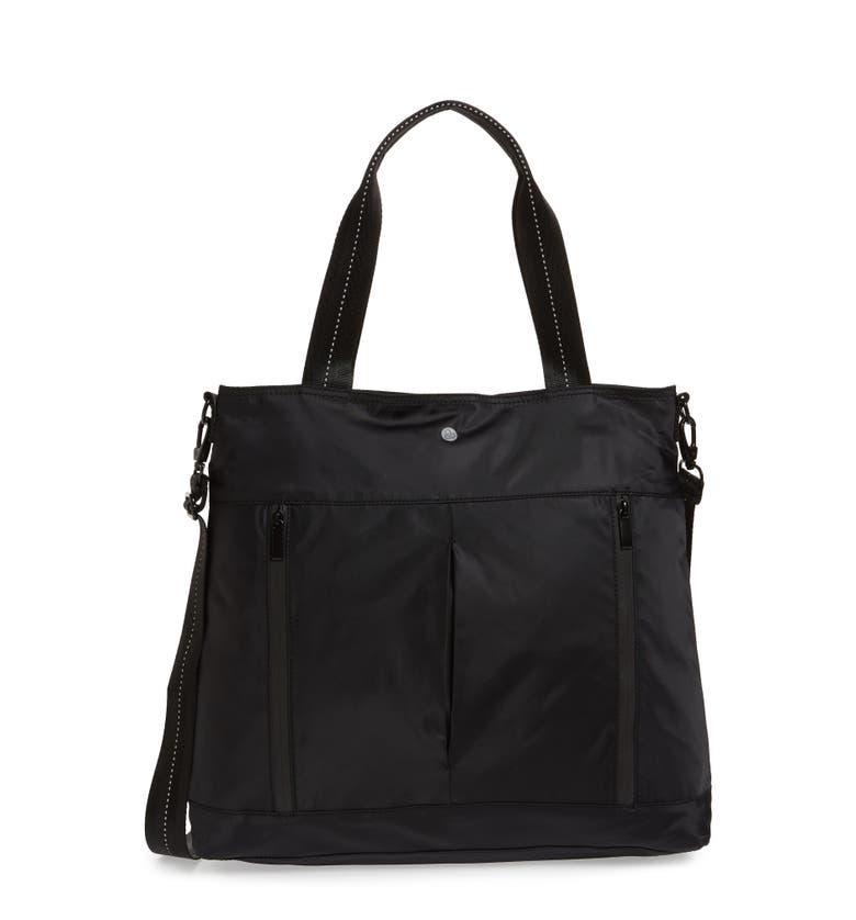 Reflective Nylon Tote Bag