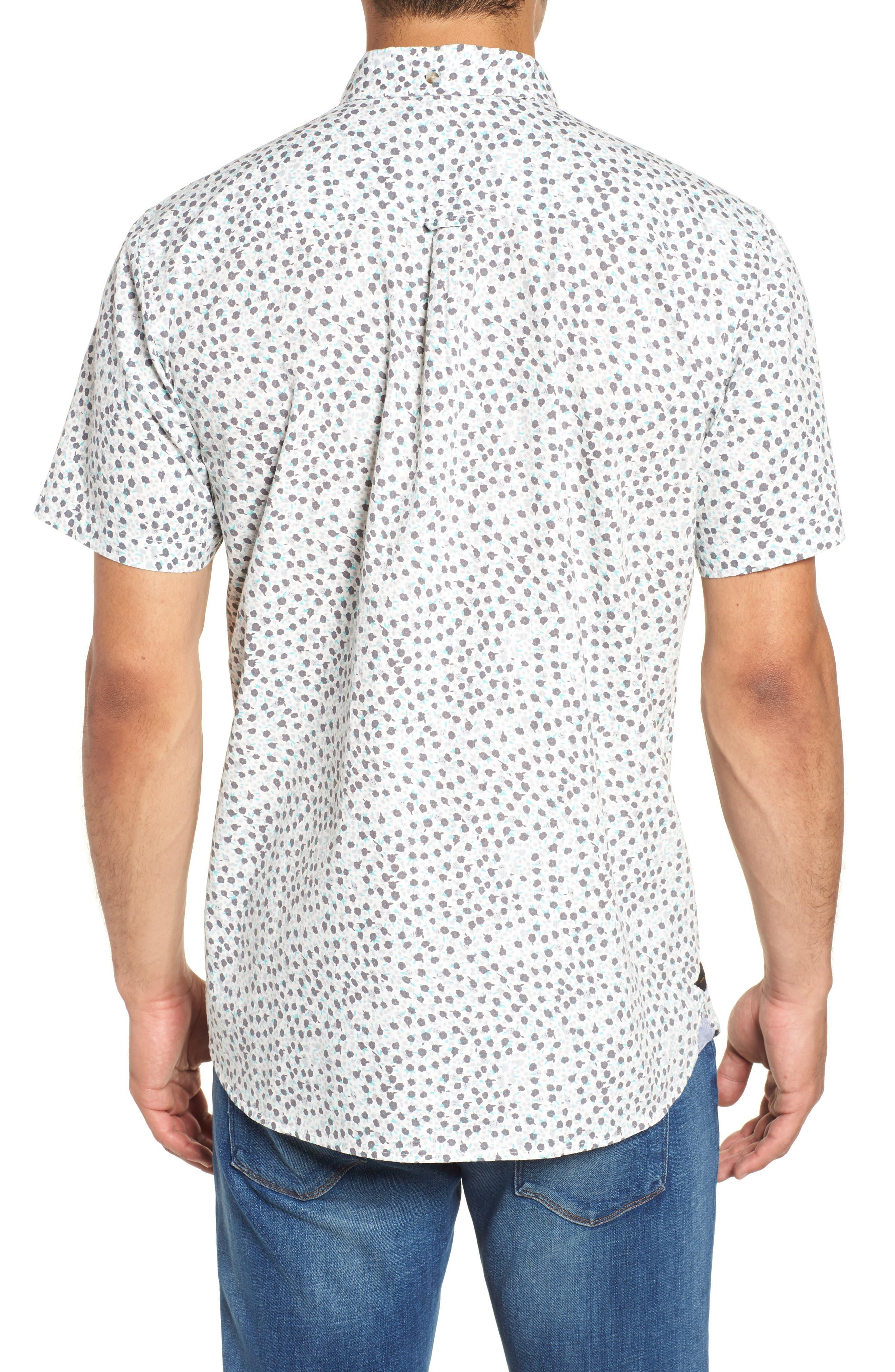 El Mirador Woven Shirt,                             Alternate thumbnail 3, color,                             Off White