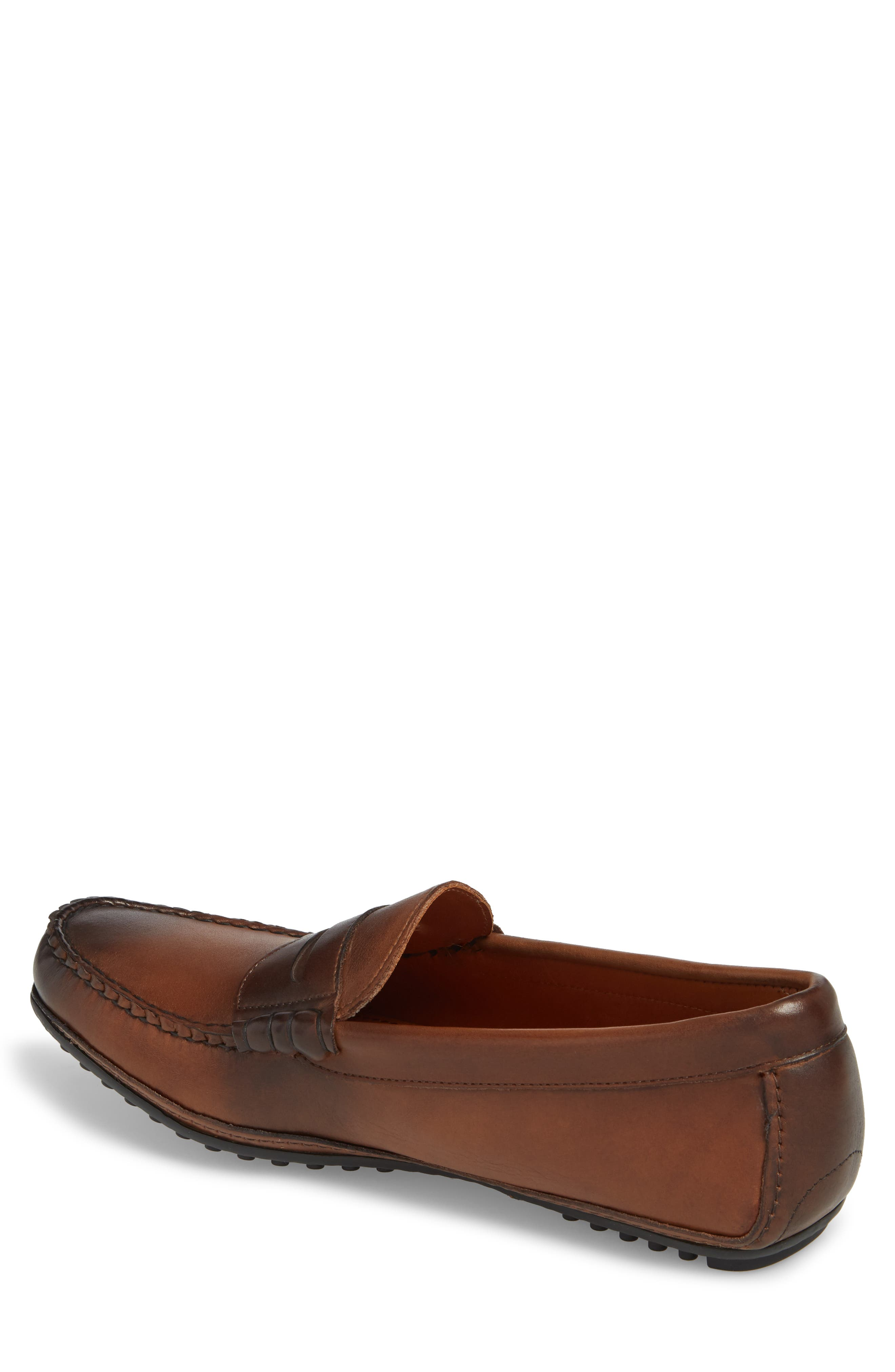 Siesta Key Penny Loafer,                             Alternate thumbnail 2, color,                             Brown Leather