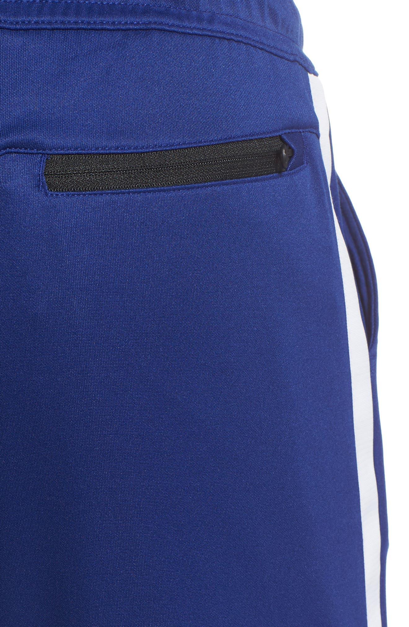 Tribute Jogger Pants,                             Alternate thumbnail 5, color,                             Deep Royal Blue/ White/ White