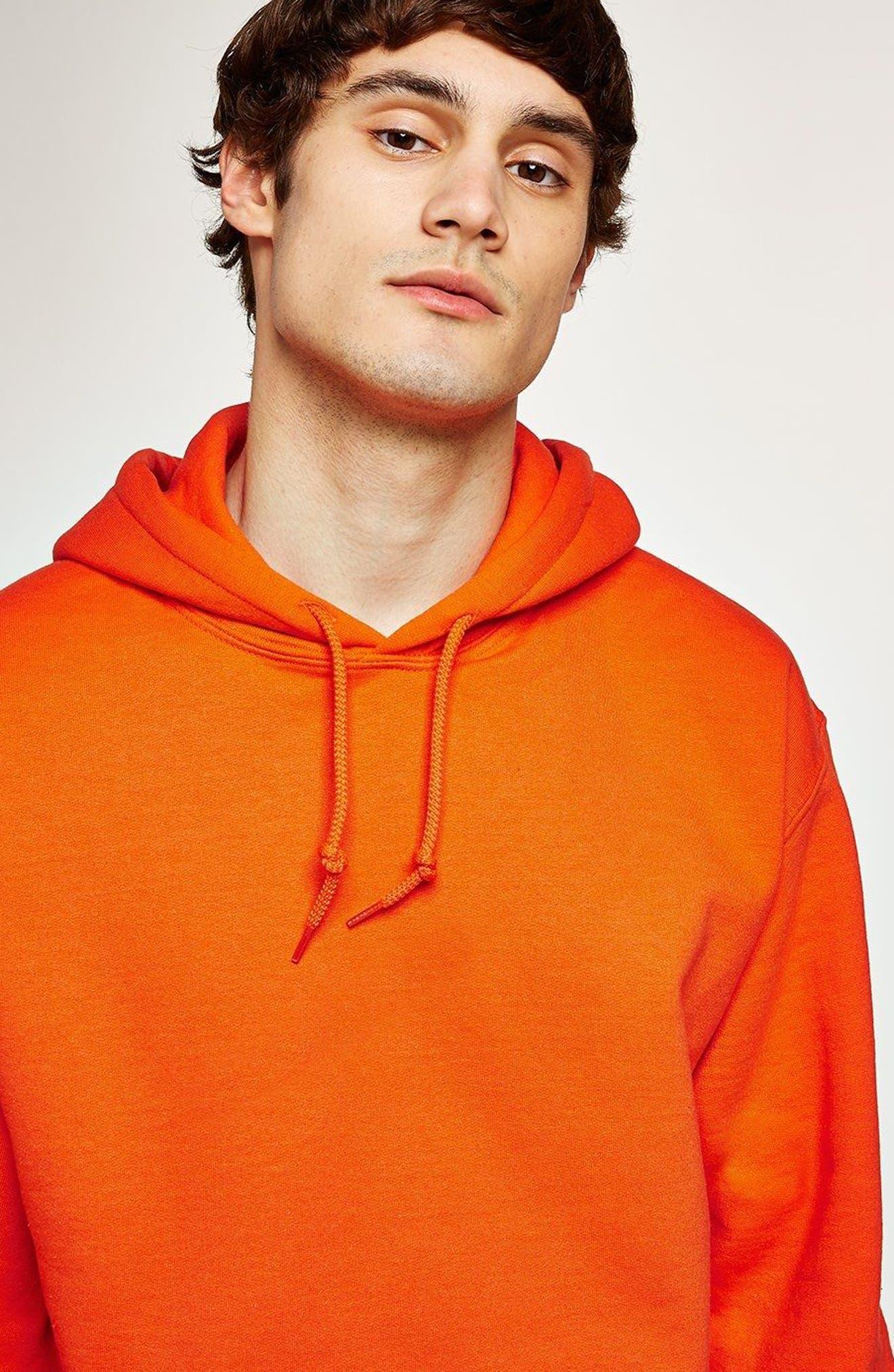 Classic Fit Gildan Pullover Hoodie,                             Alternate thumbnail 3, color,                             Orange