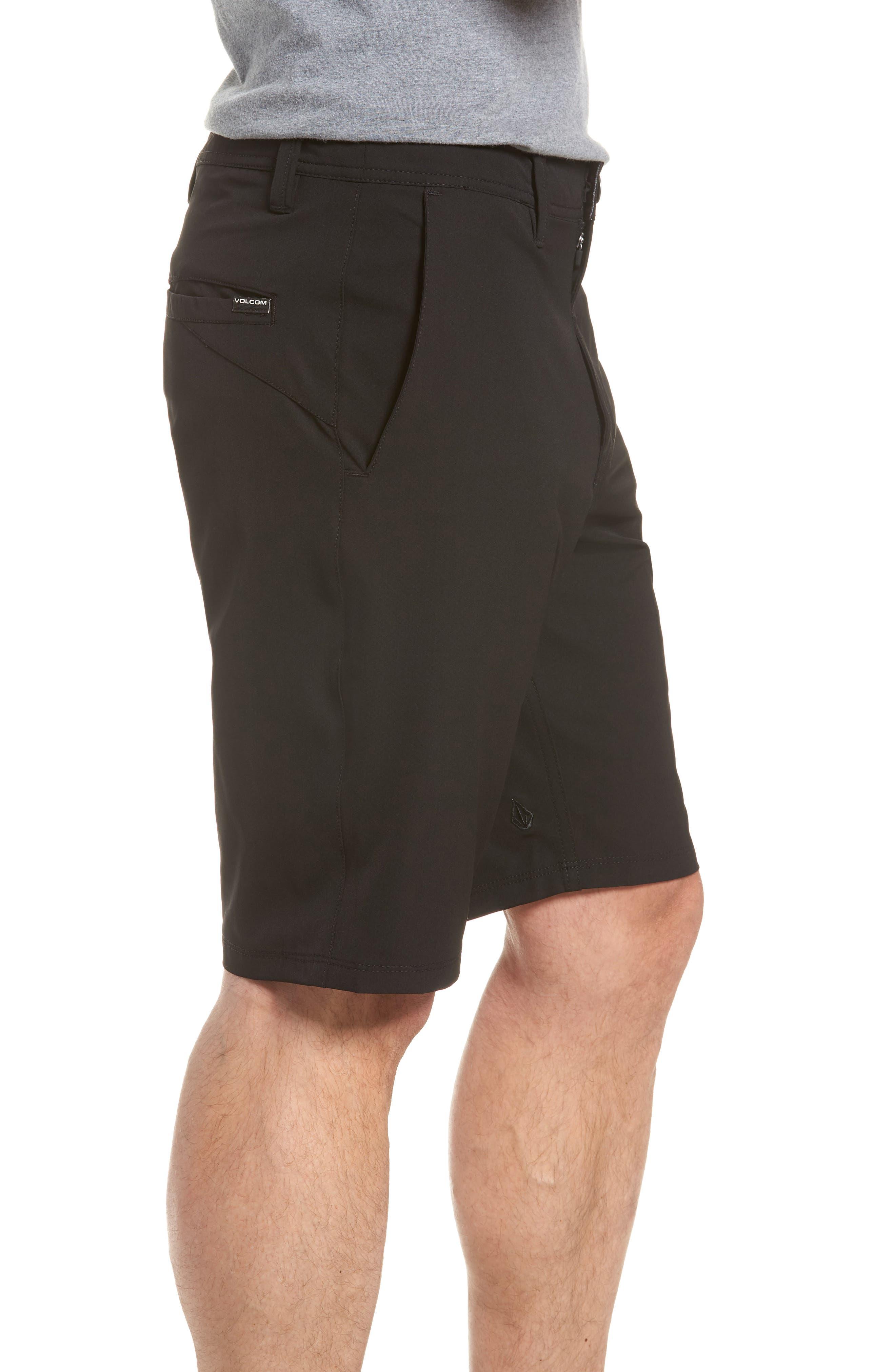 SNT Dry Hybrid Shorts,                             Alternate thumbnail 3, color,                             Black