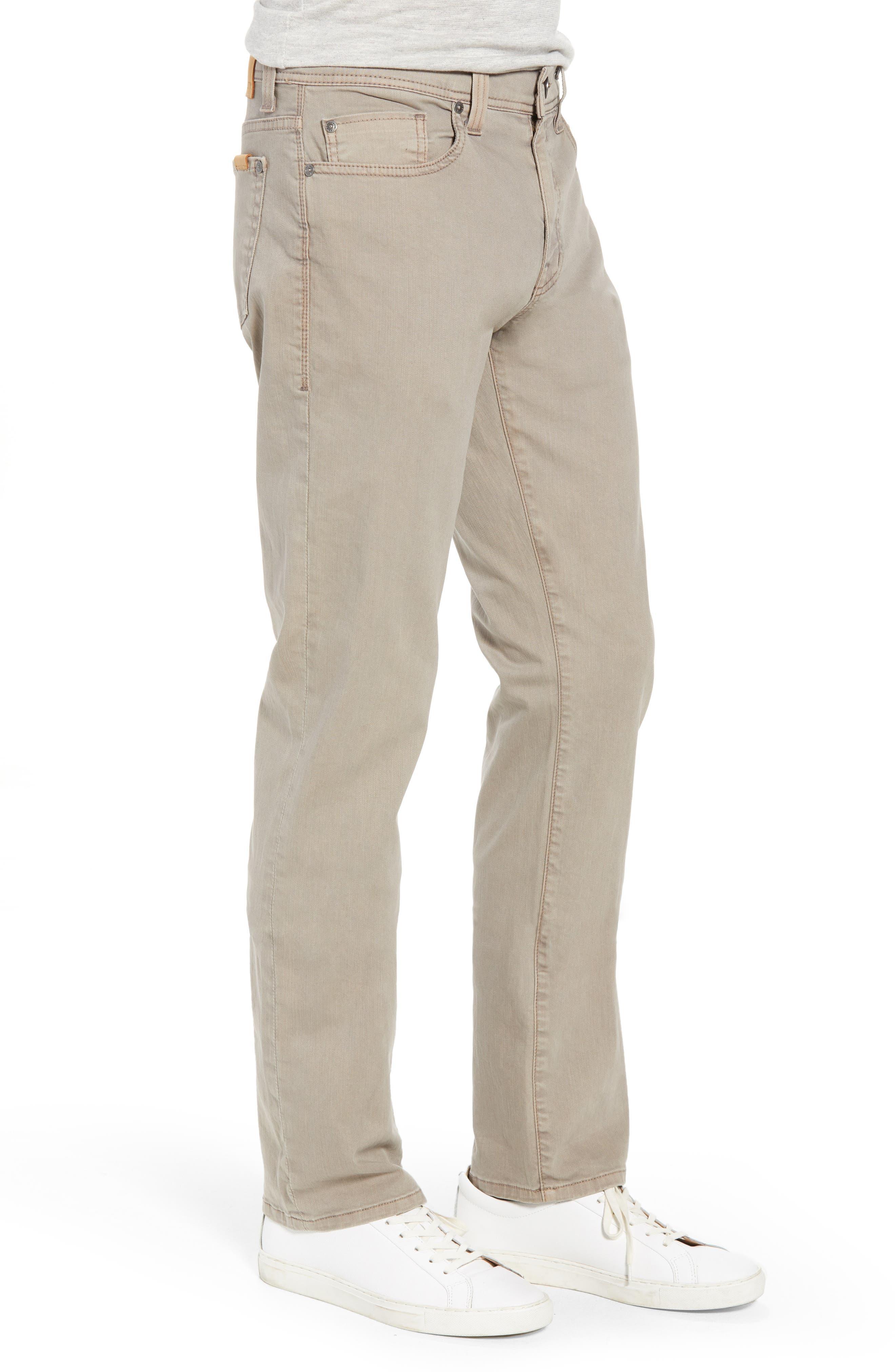 Jimmy Slim Straight Leg Jeans,                             Alternate thumbnail 3, color,                             Khaki