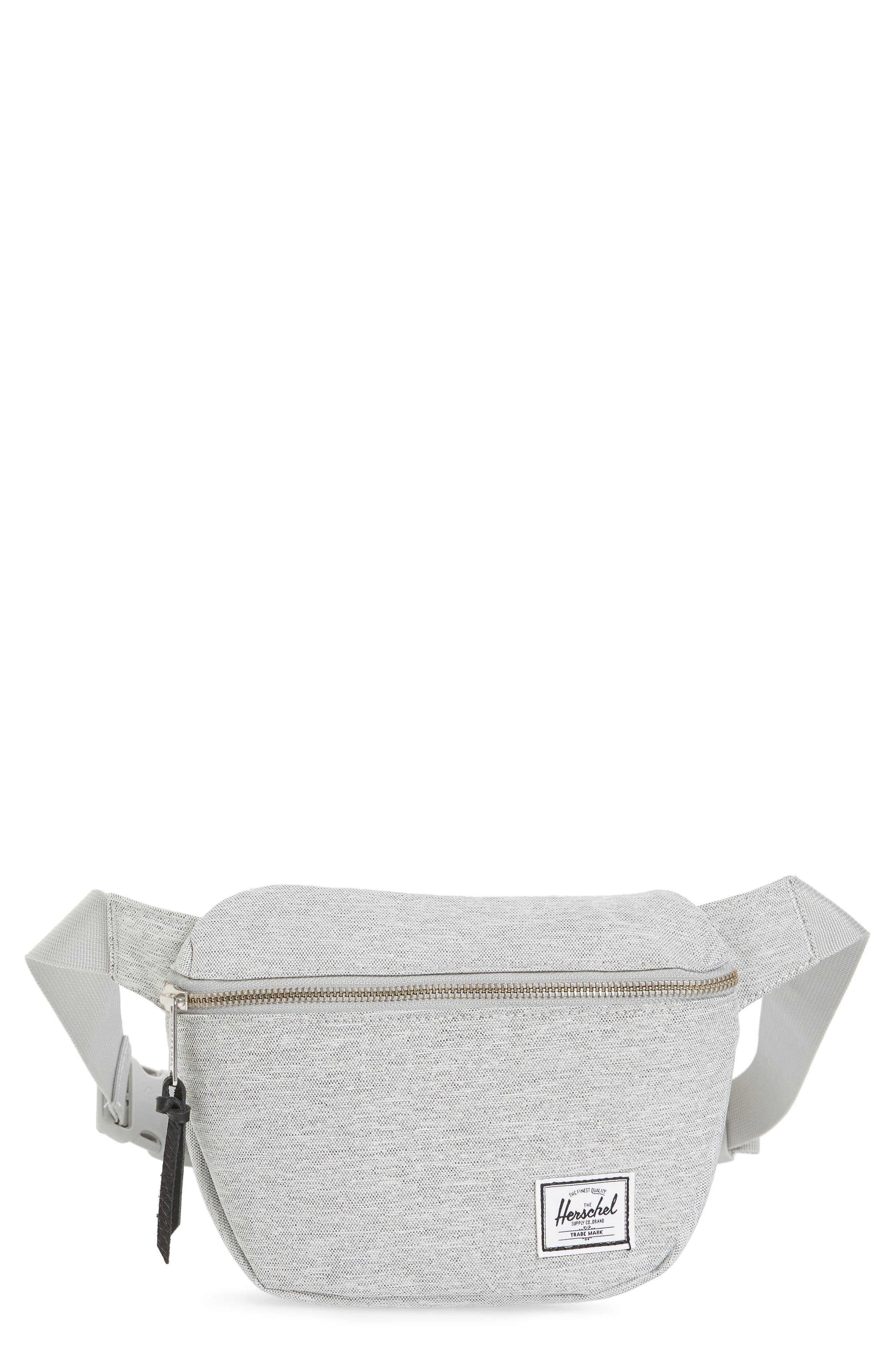 Fifteen Belt Bag,                         Main,                         color, Light Grey