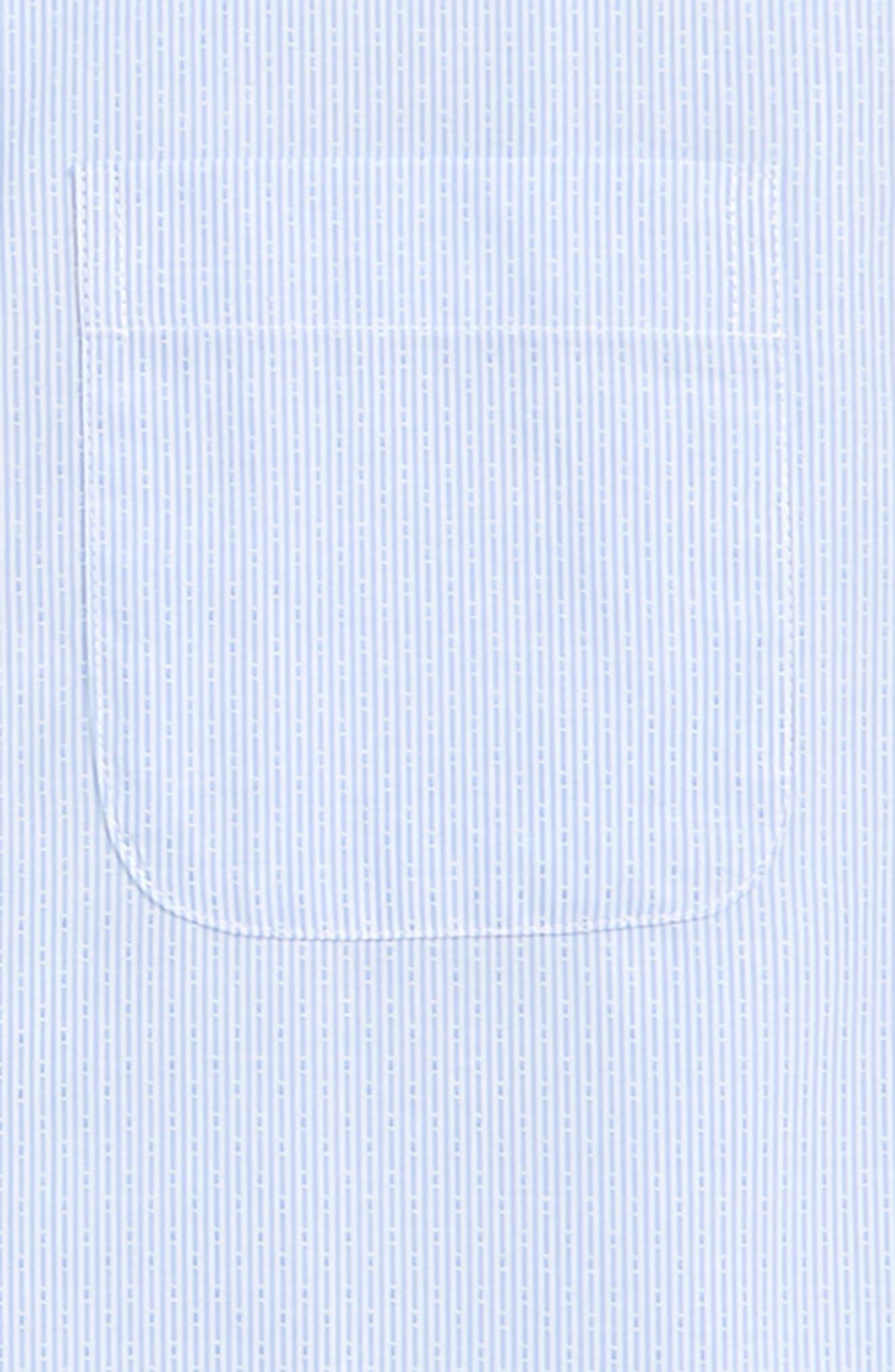 Robbia Dobby Dress Shirt,                             Alternate thumbnail 2, color,                             Blue Robbia- White Dobby
