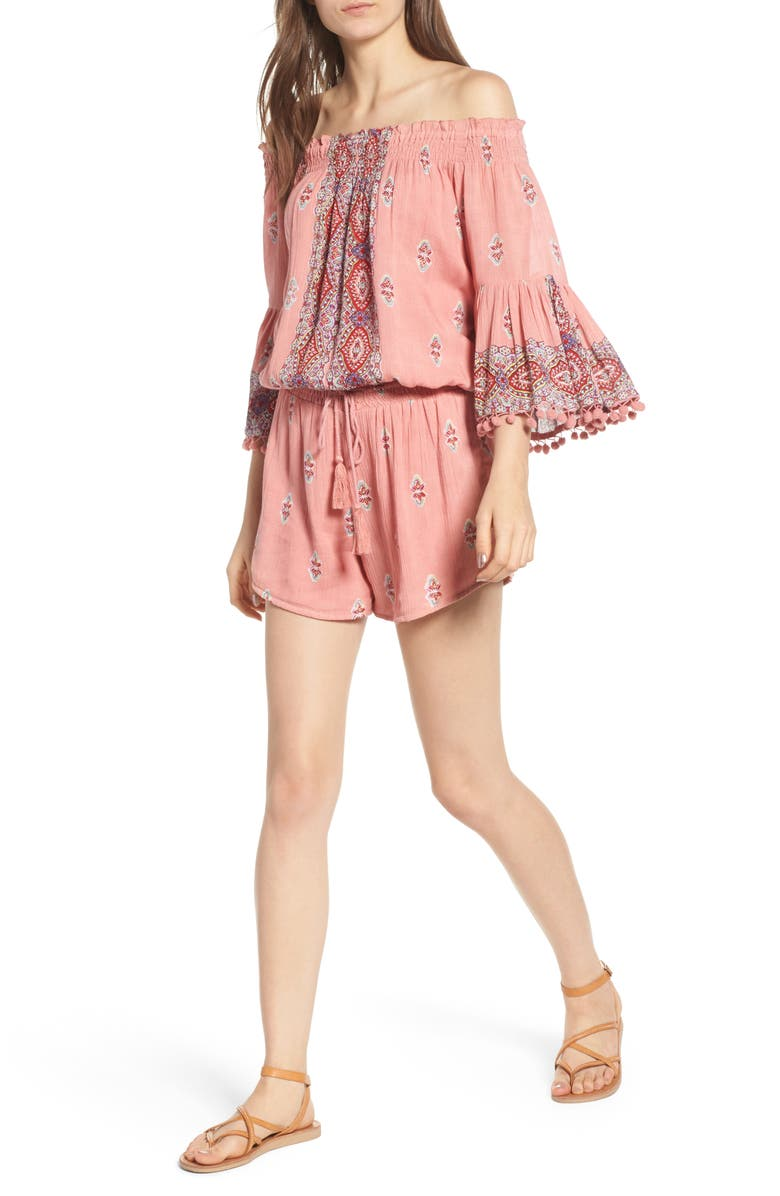 Endless Love Off the Shoulder Romper