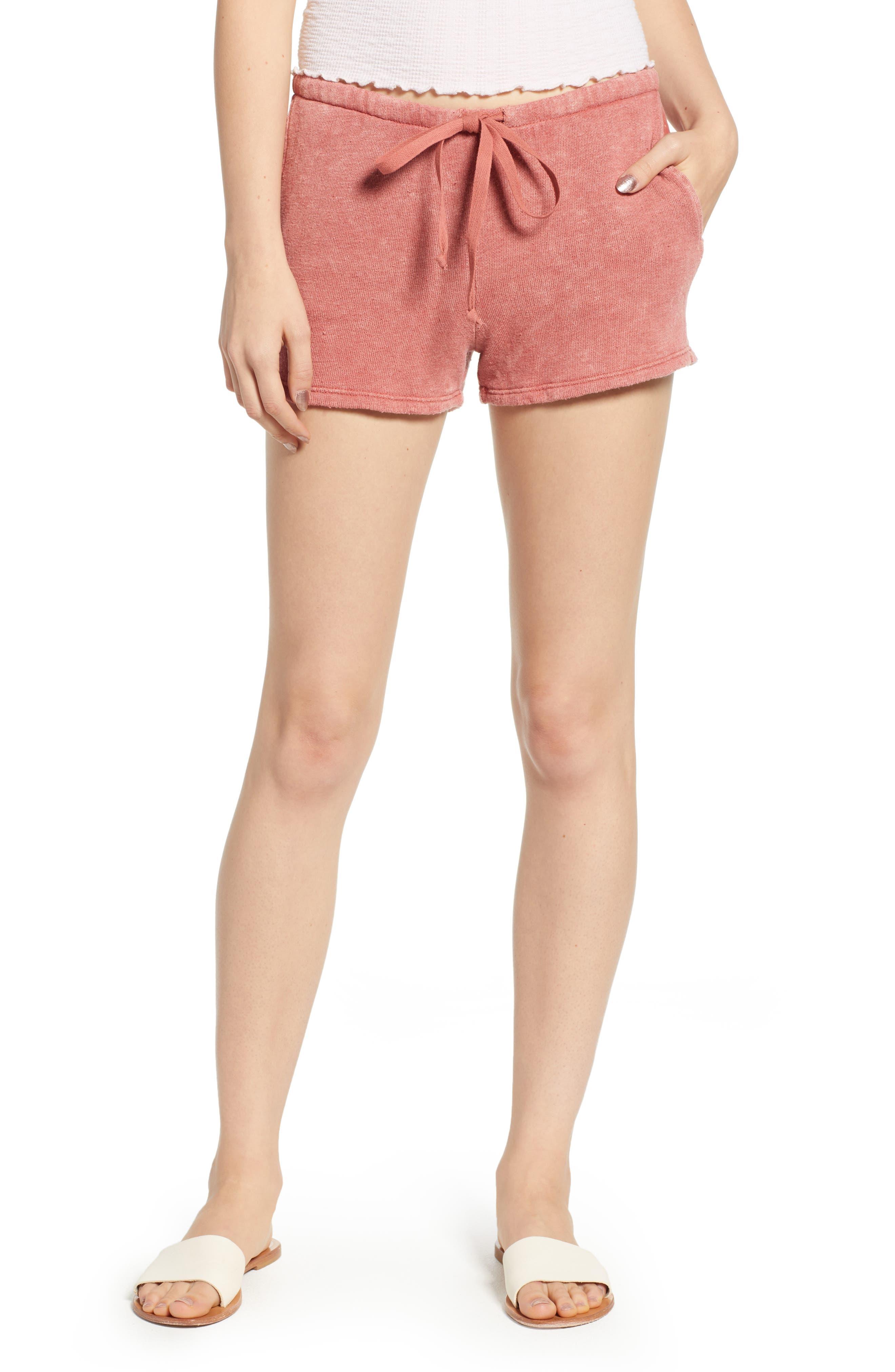 Kiama Shorts,                         Main,                         color, Strawberry Rouge