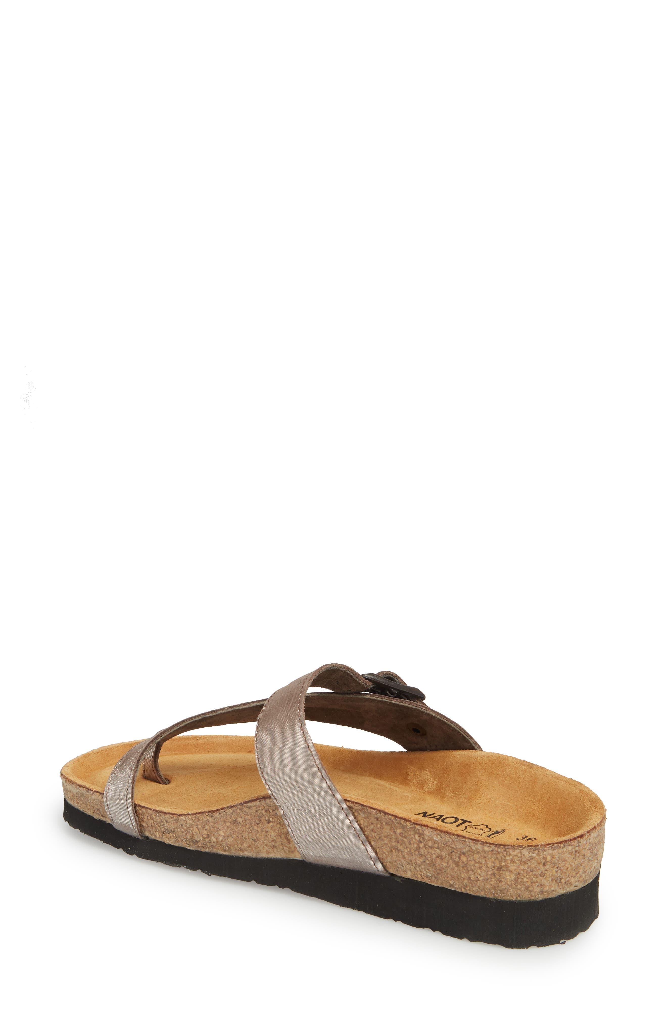 'Tahoe' Sandal,                             Alternate thumbnail 2, color,                             Silver Leather